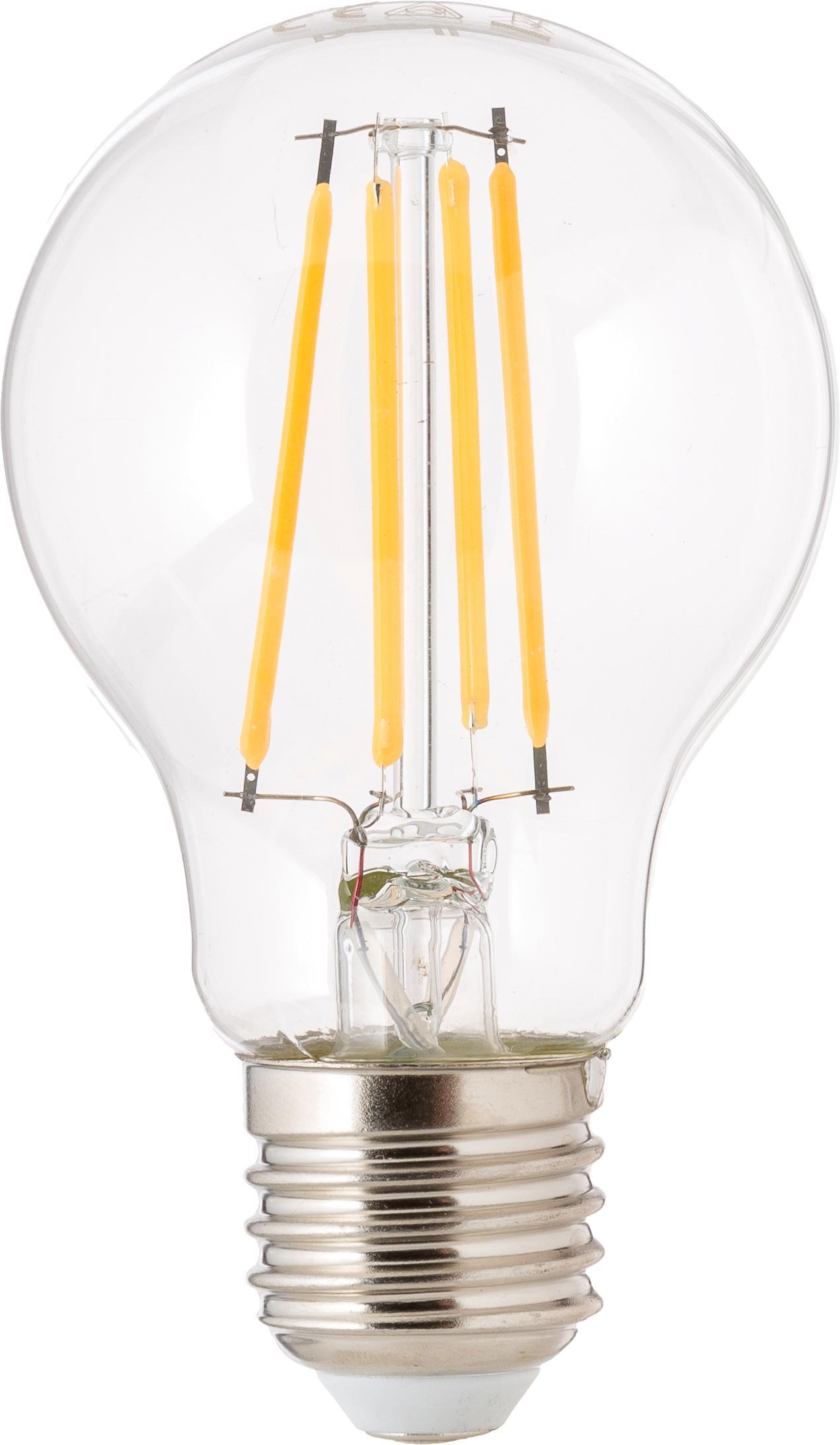 Lampadina dimmerabile Cherub (E27 / 8,3Watt) 3 pz, Lampadina: vetro, Trasparente, Ø 8 x Alt. 10 cm