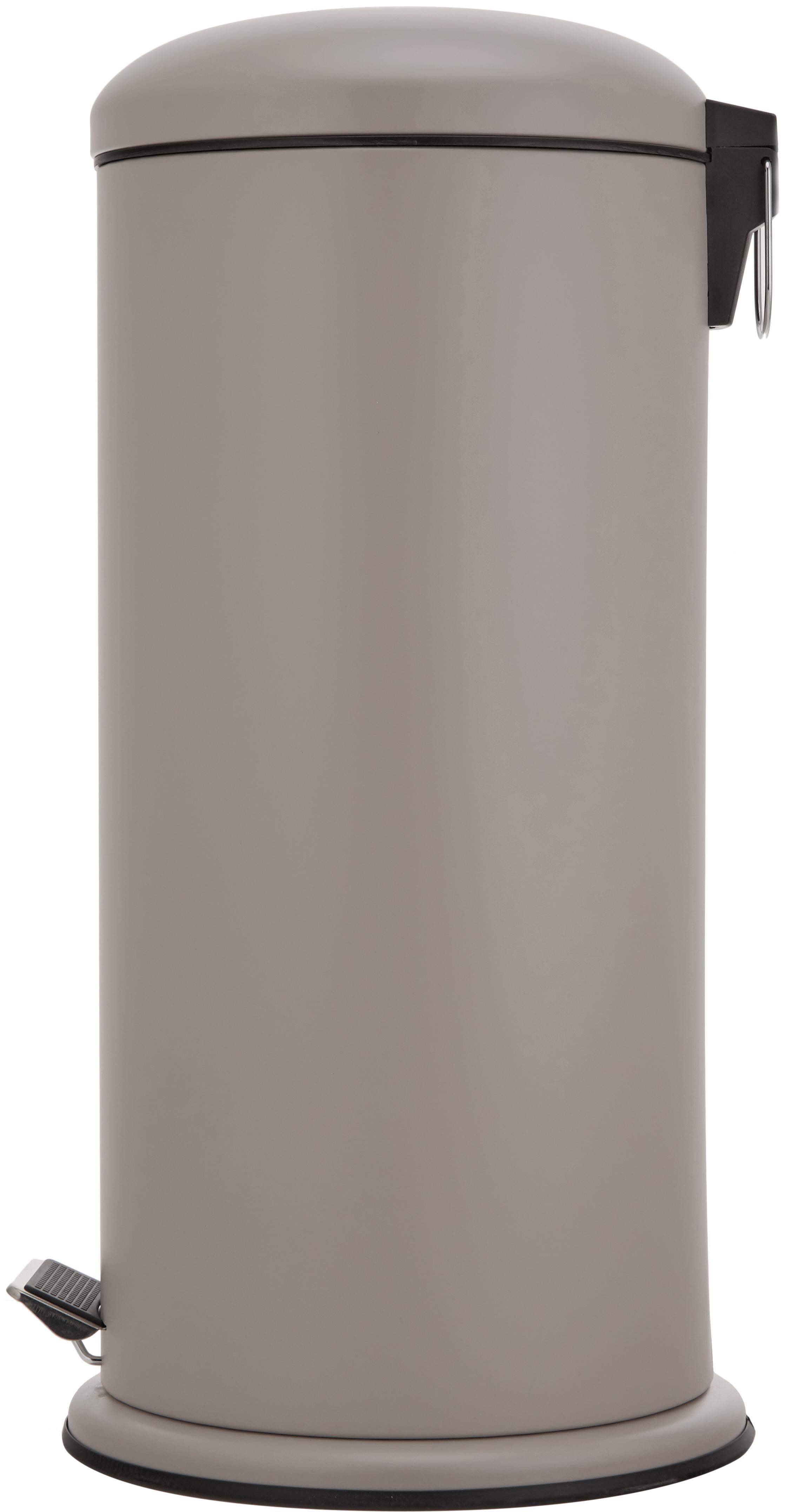 Pattumiera Dustbin, Beige, Ø 30 x Alt. 68 cm
