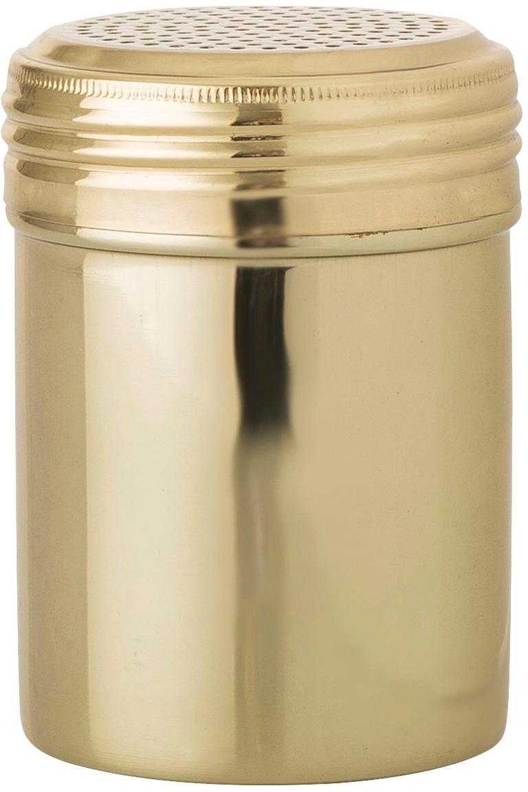 Colador azucar glas Mingo, Acero inoxidable recubierto, Latón, Ø 7 x Al 10 cm