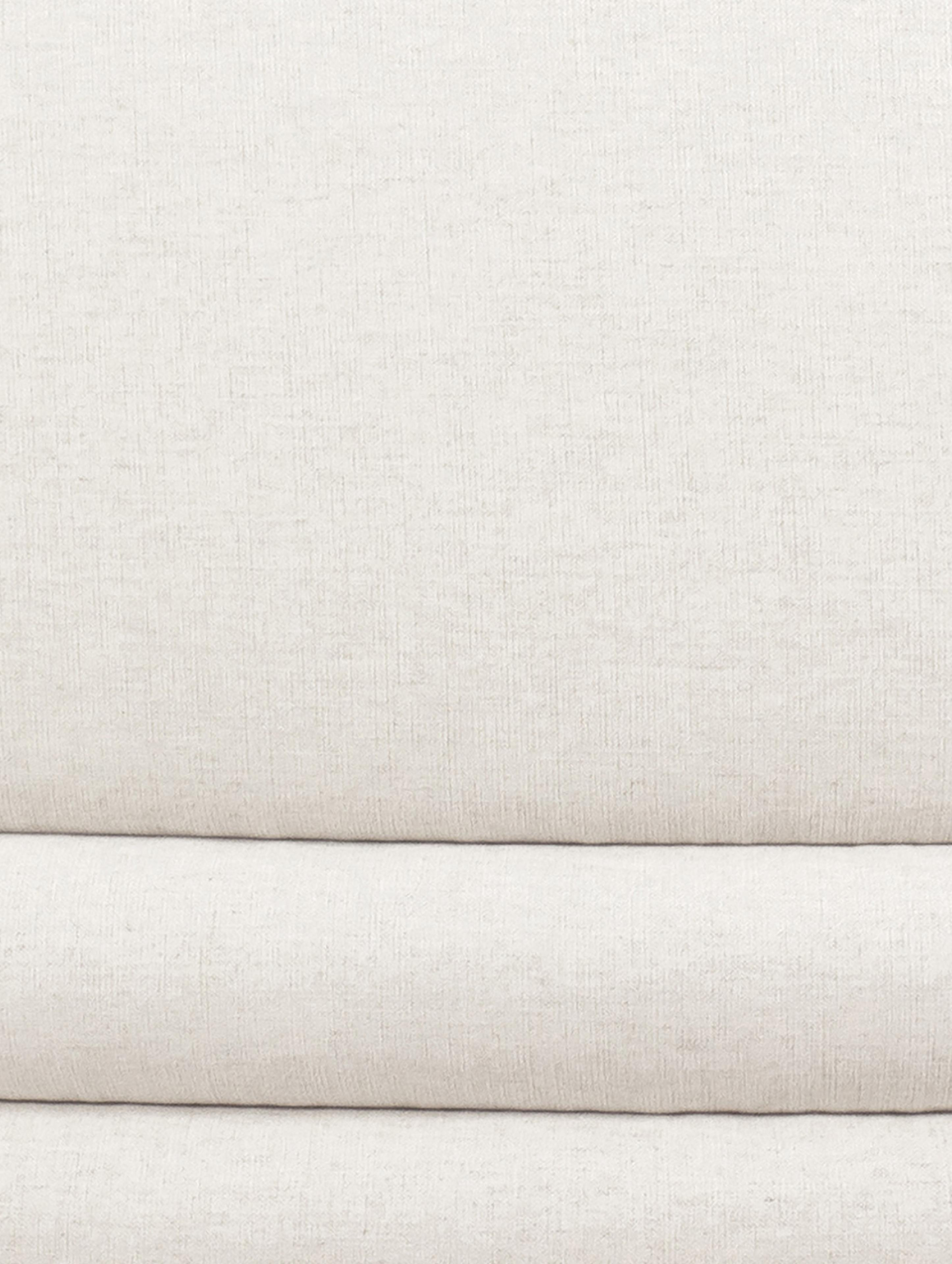 Sofá Solomon (3plazas), Tapizado: 56%viscosa, 21%poliéste, Tapizado: relleno de espuma, Estructura: madera de abeto maciza, m, Patas: plástico, Beige, negro, An 200 x F 95 cm