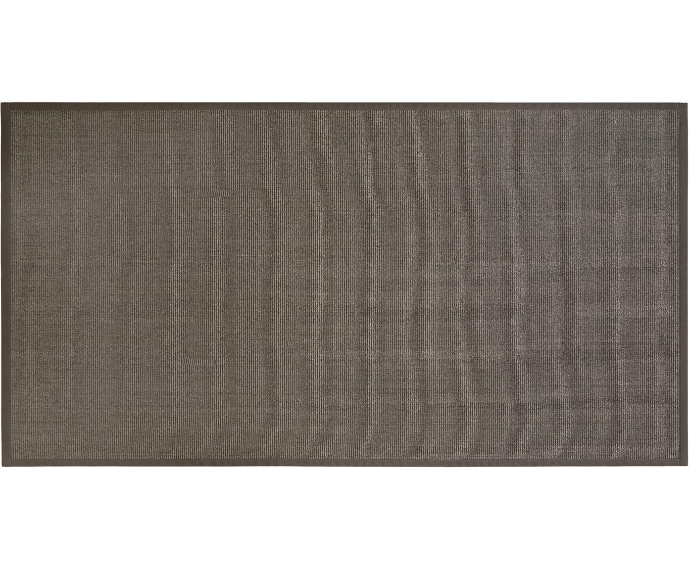 Alfombra Leonie, Fibra de sisal, Gris topo oscuro, An 80 x L 150 cm (Tamaño XS)