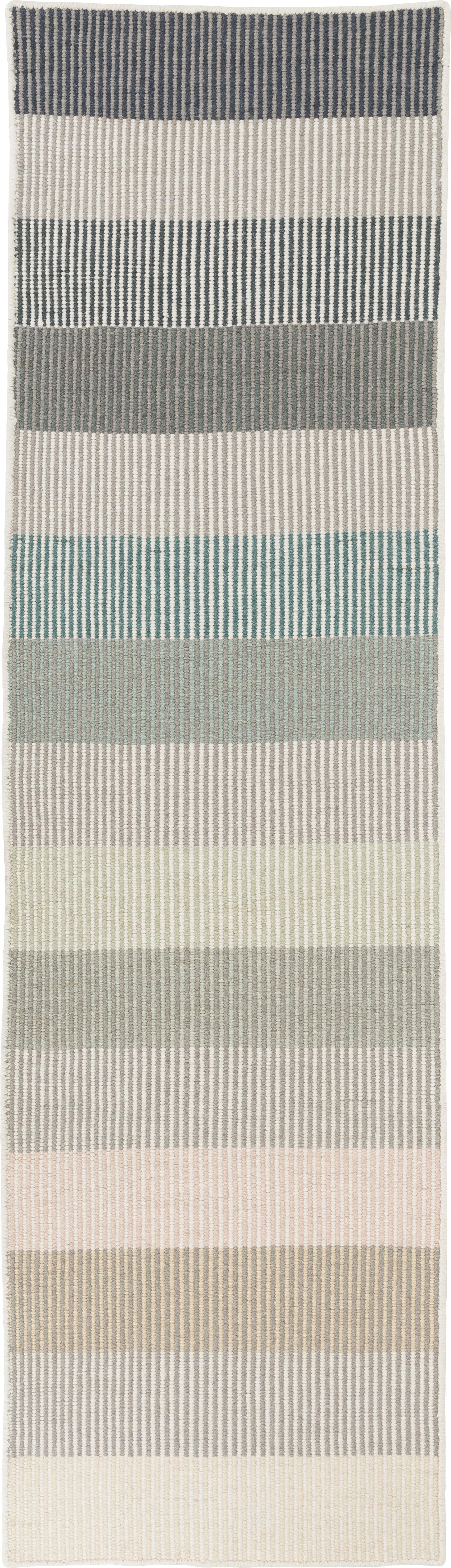 Alfombra de lana artesanal Devise, Multicolor, An 80 x L 280 cm