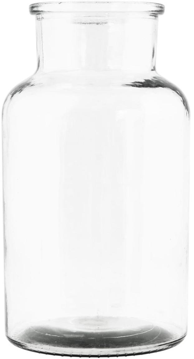 Jarrón de vidrio Jaredya, Vidrio, Transparente, Ø 14 x Al 26 cm