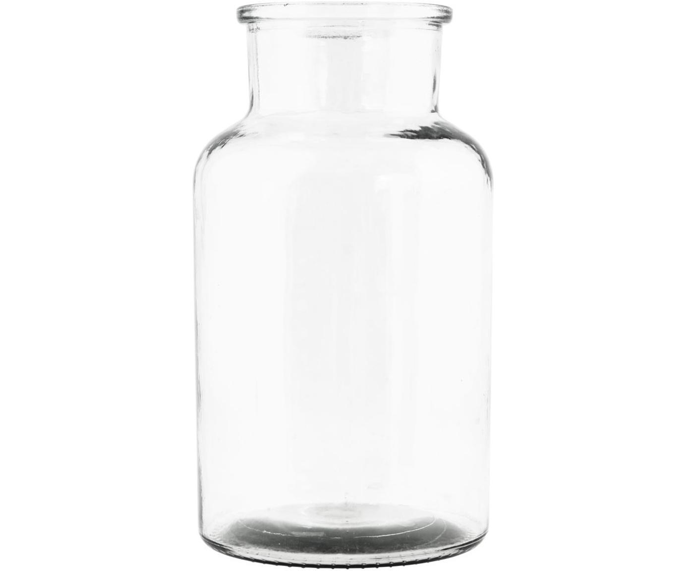 Vaas Jaredya, Glas, Transparant, Ø 14 x H 26 cm