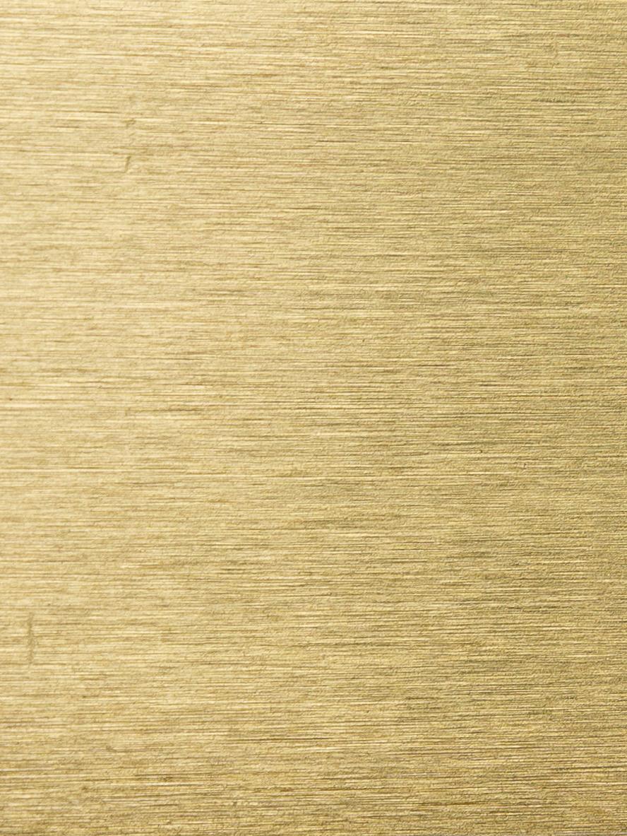 Specchio da parete rotondo con cornice dorata Ada, Cornice: ferro, ottonato, Superficie dello specchio: lastra di vetro, Ottone spazzolato, Ø 60 cm