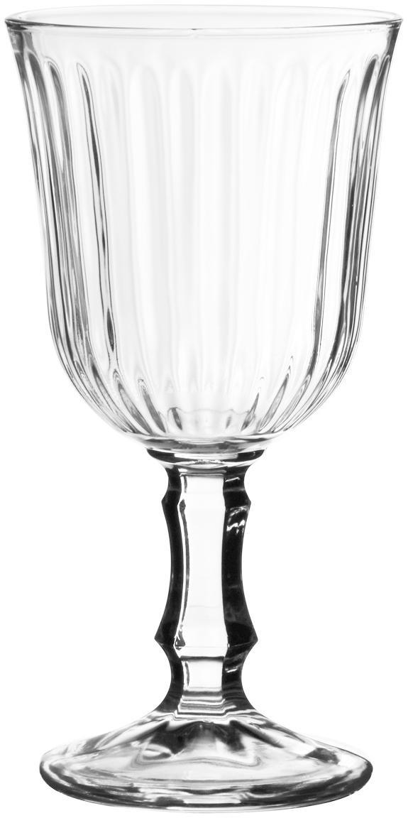Copas de vino Belem, 12uds., Vidrio, Transparente, 180 ml