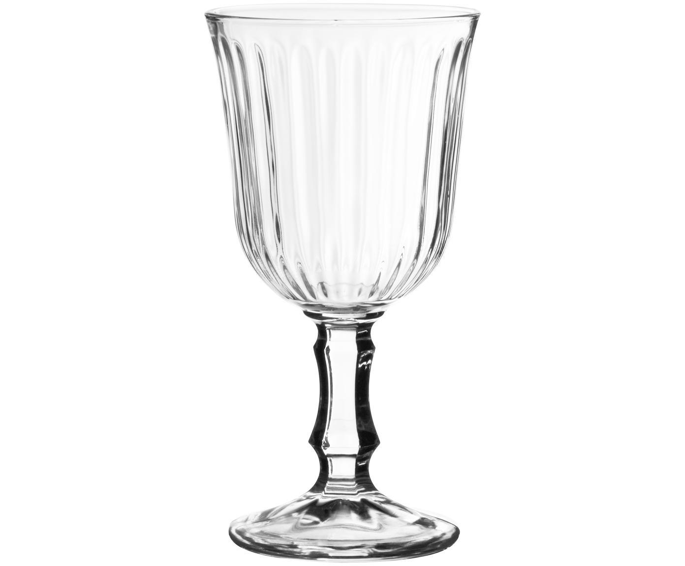Wijnglazen Belem, 12 stuks, Glas, Transparant, 180 ml