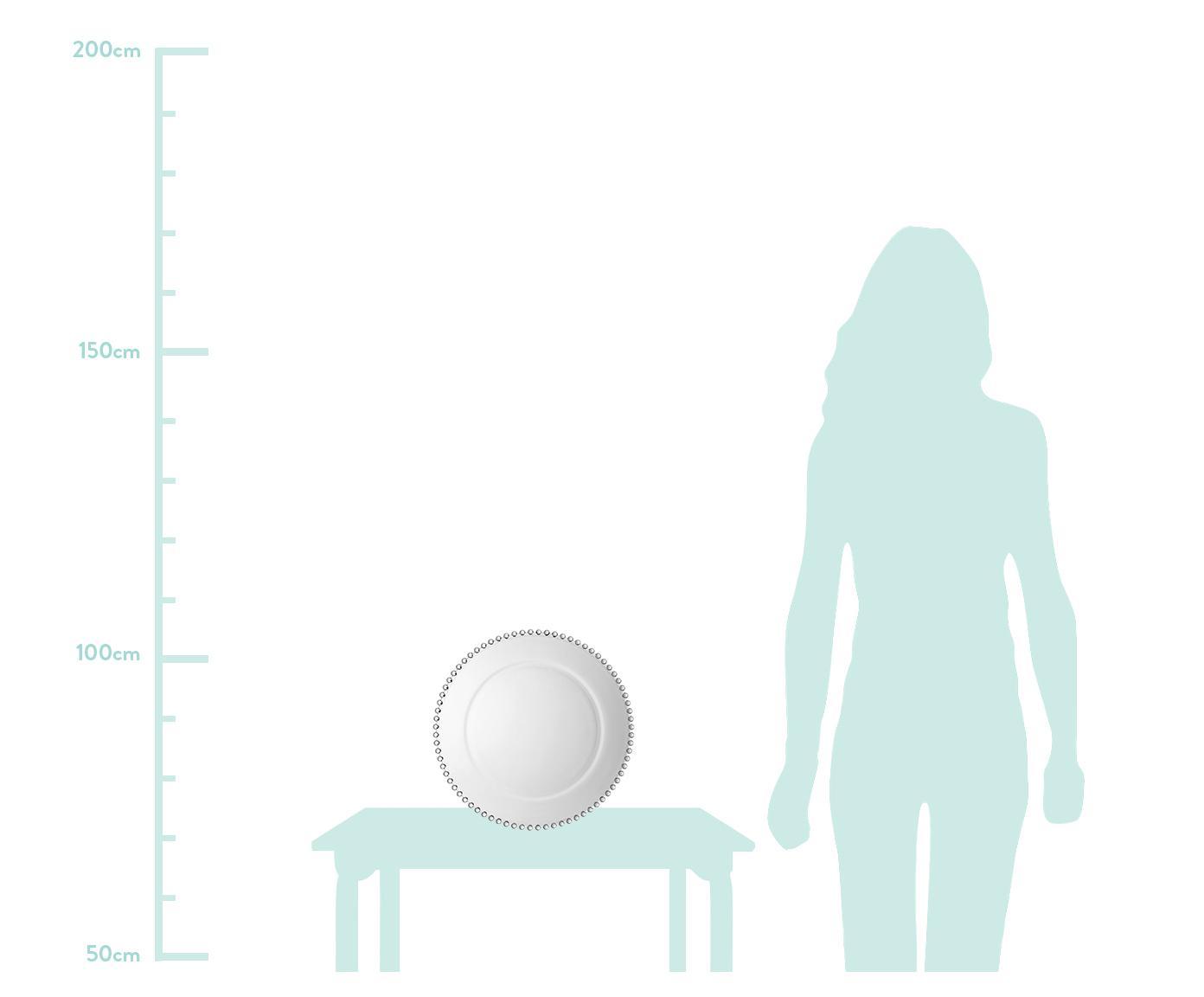 Assiette de présentation Perles, Transparent