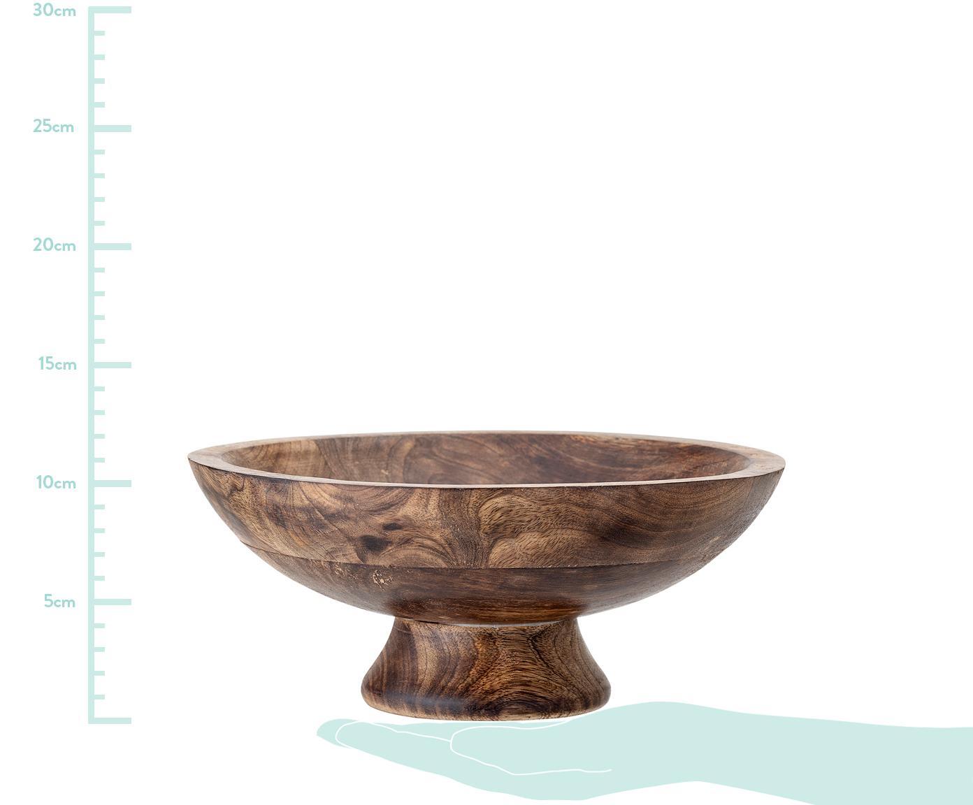 Deko-Schale Helia, Mangoholz, Mangoholz, Ø 25 cm