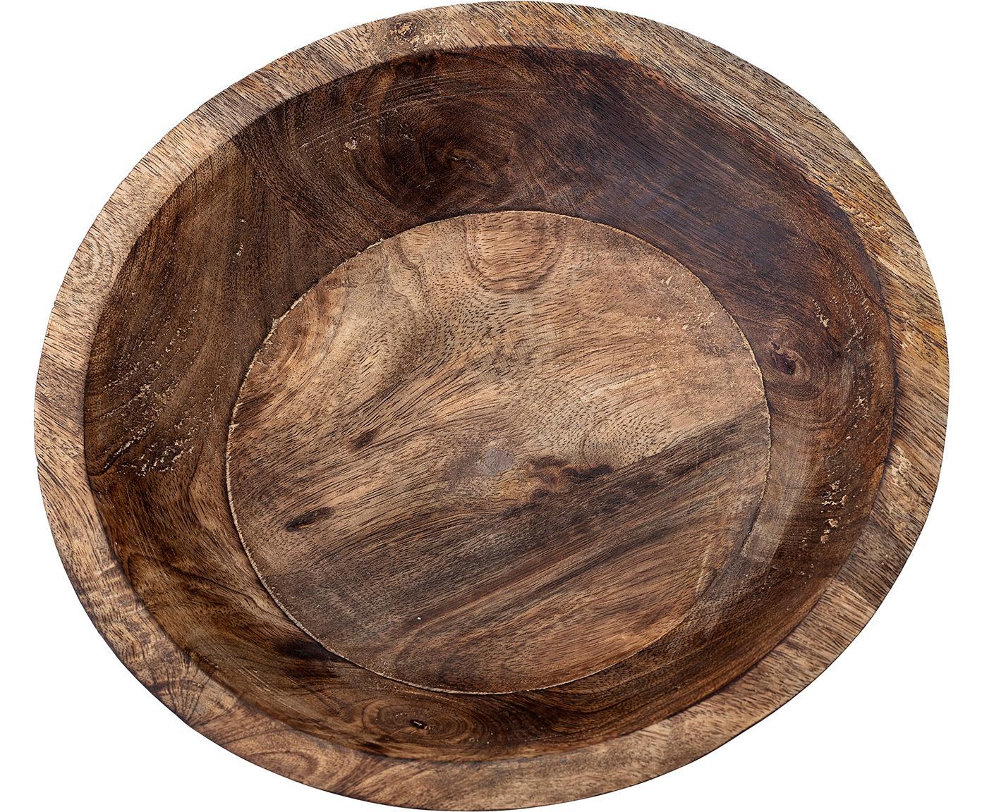 Miska dekoracyjna Helia, Drewno mangowe, Drewno mangowe, Ø 25 cm