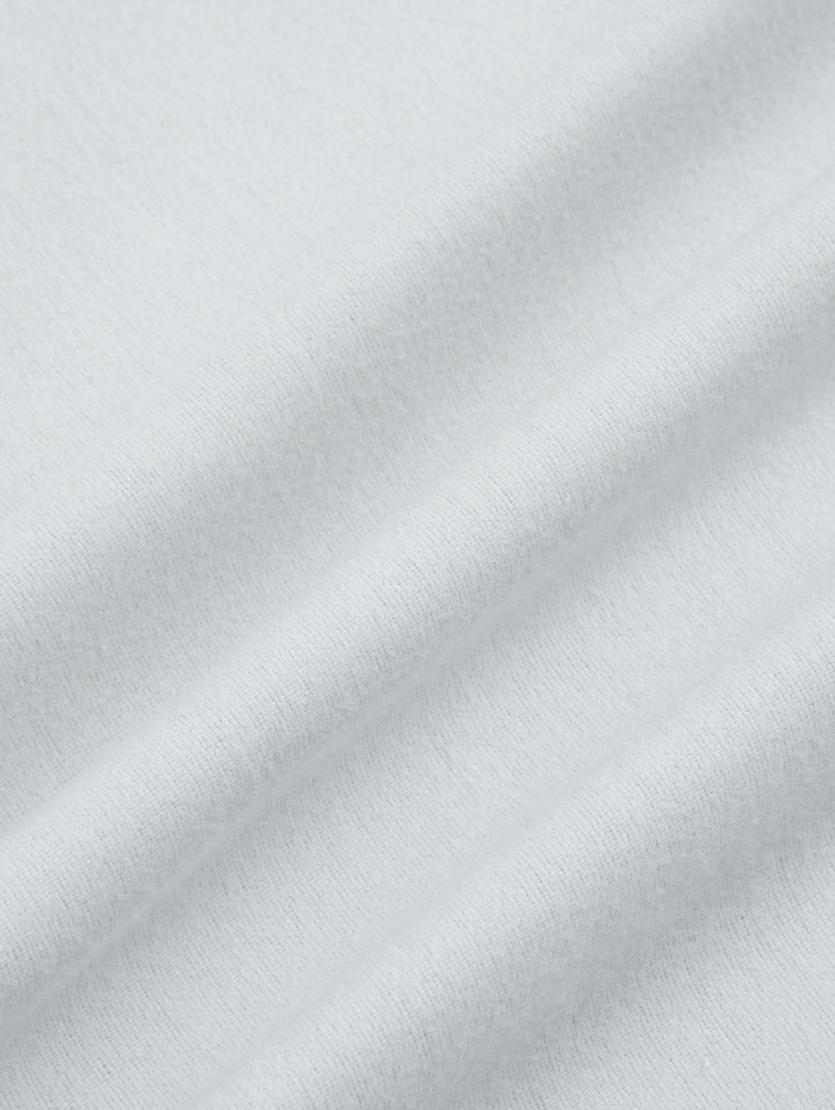 Flanell-Bettwäsche Biba in Hellgrau, Webart: Flanell Flanell ist ein s, Hellgrau, 155 x 220 cm + 1 Kissen 80 x 80 cm