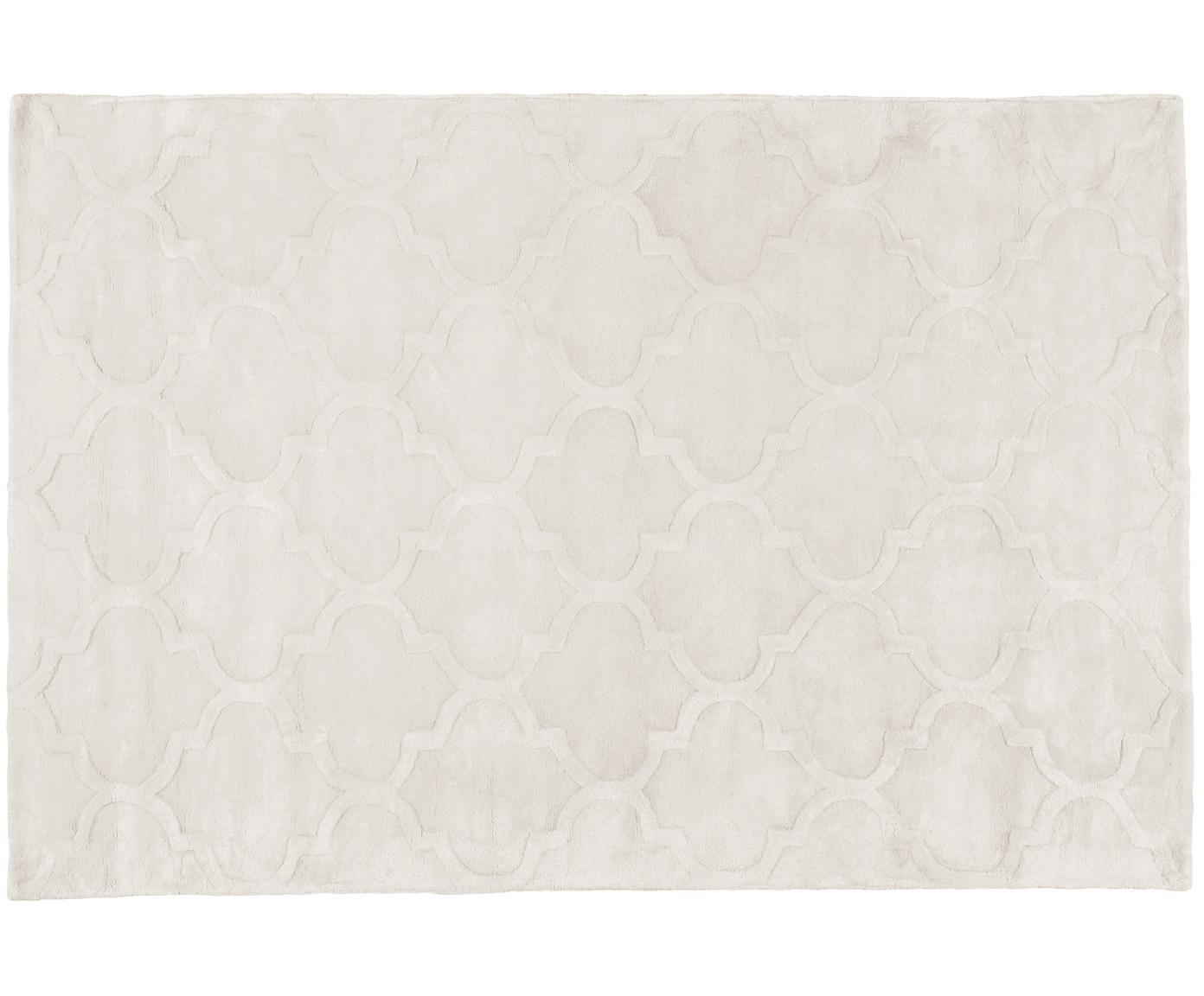 Ręcznie tuftowany dywan z wiskozy Magali, Kremowy, S 120 x D 180 cm (Rozmiar S)