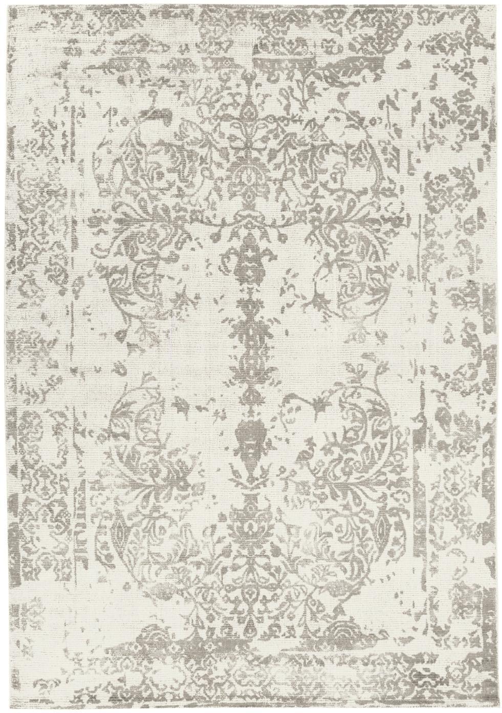 Dywan z wełny/wiskozy Florentine, Beżowy, jasny szary, S 140 x D 200 cm