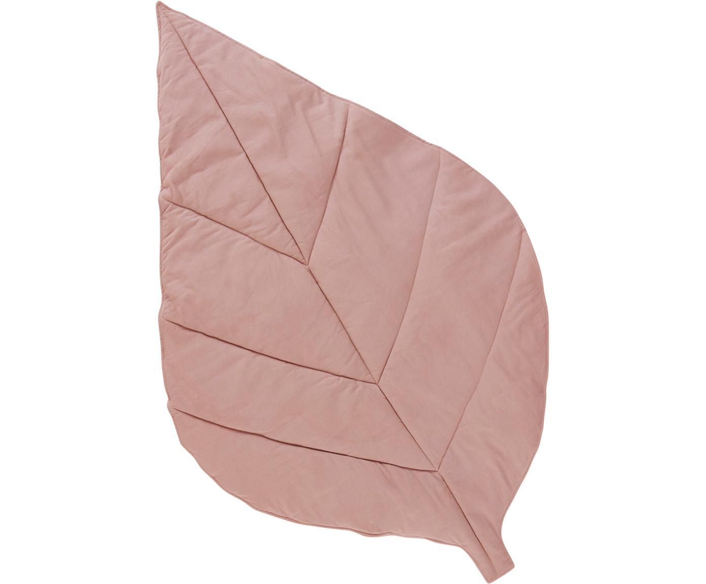 Mata do zabawy Keaton, Tapicerka: 100% bawełna organiczna, Blady różowy, S 100 x D 165 cm
