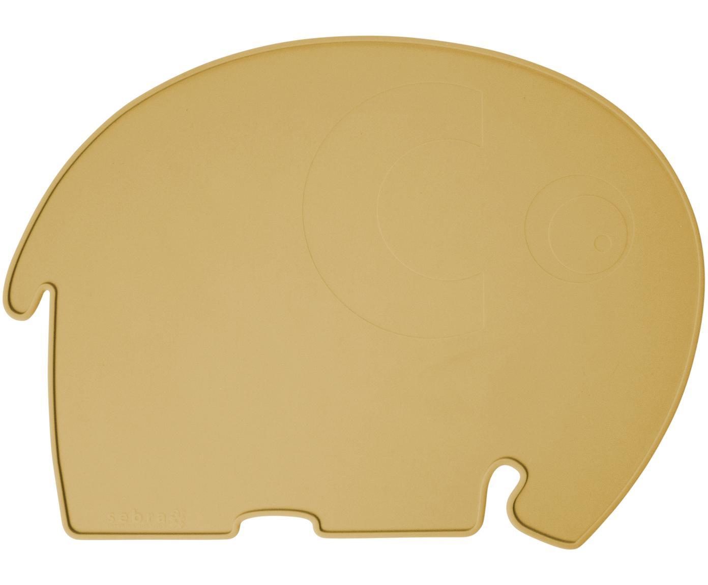 Placemat Fanto, Siliconen, BPA-vrij, Geel, 43 x 33 cm
