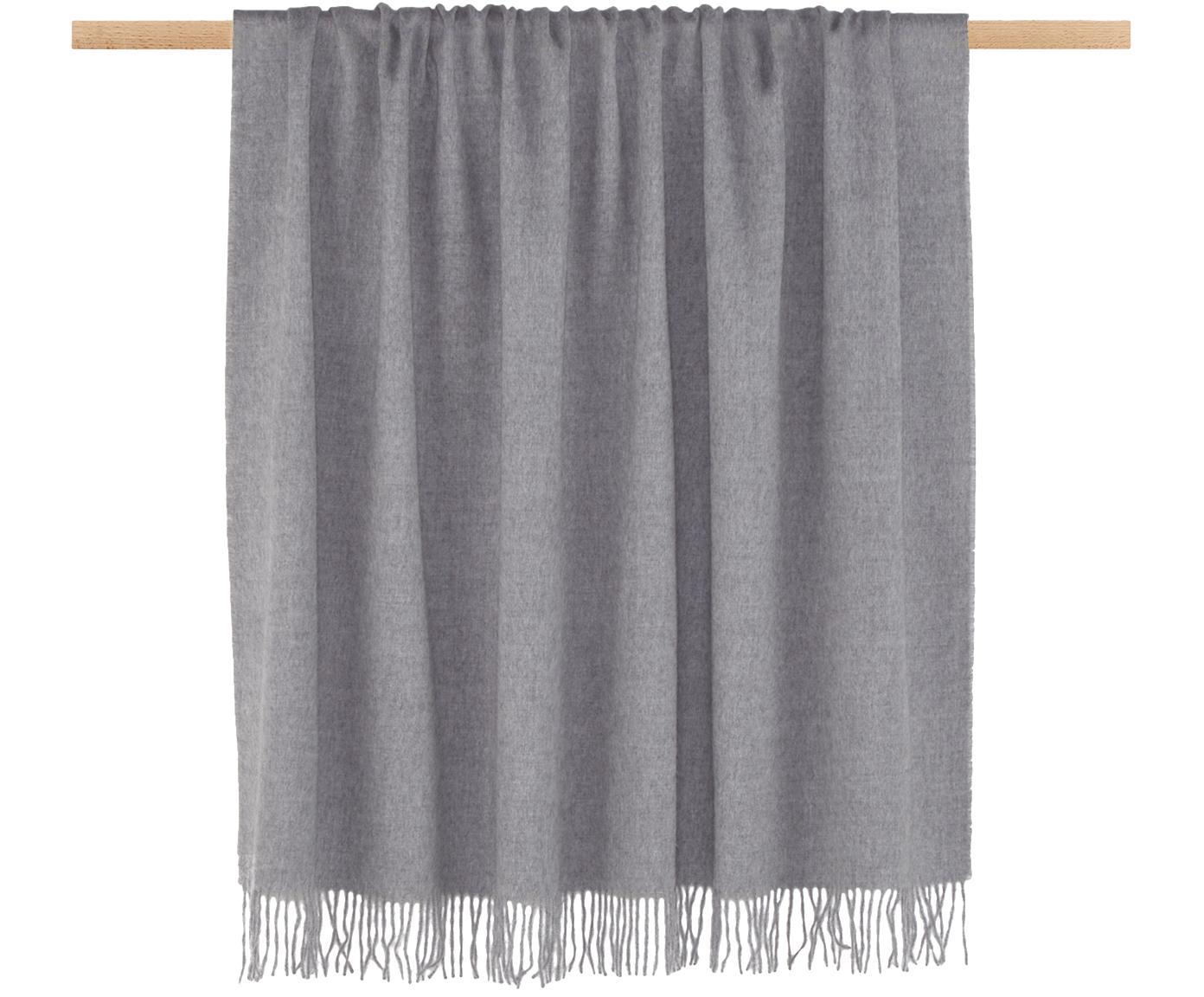 Babyalpaka-Plaid Luxury, Grau, 130 x 200 cm