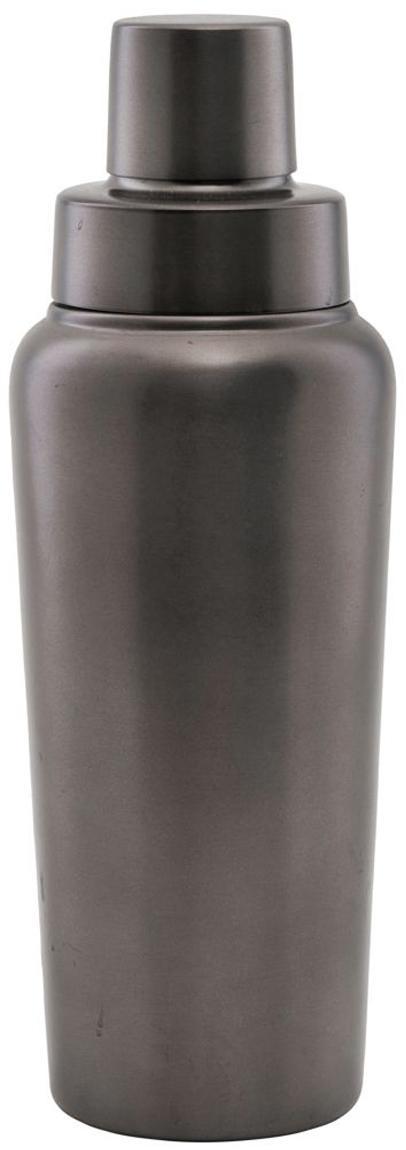 Cocktail Shaker Gunmetal, Edelstahl, beschichtet, Anthrazit, Ø 9 x H 25 cm