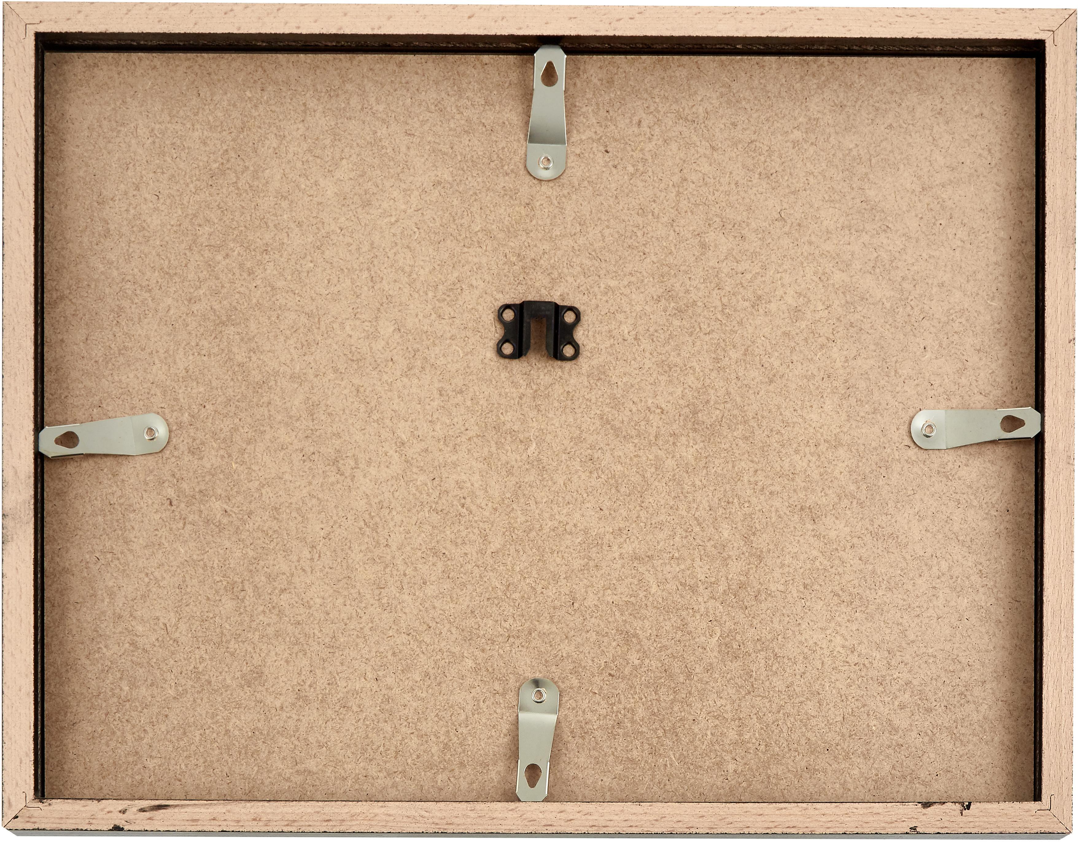 Oprawiony druk cyfrowy Picasso's Dackel, Biały, czarny, S 43 x W 33 cm