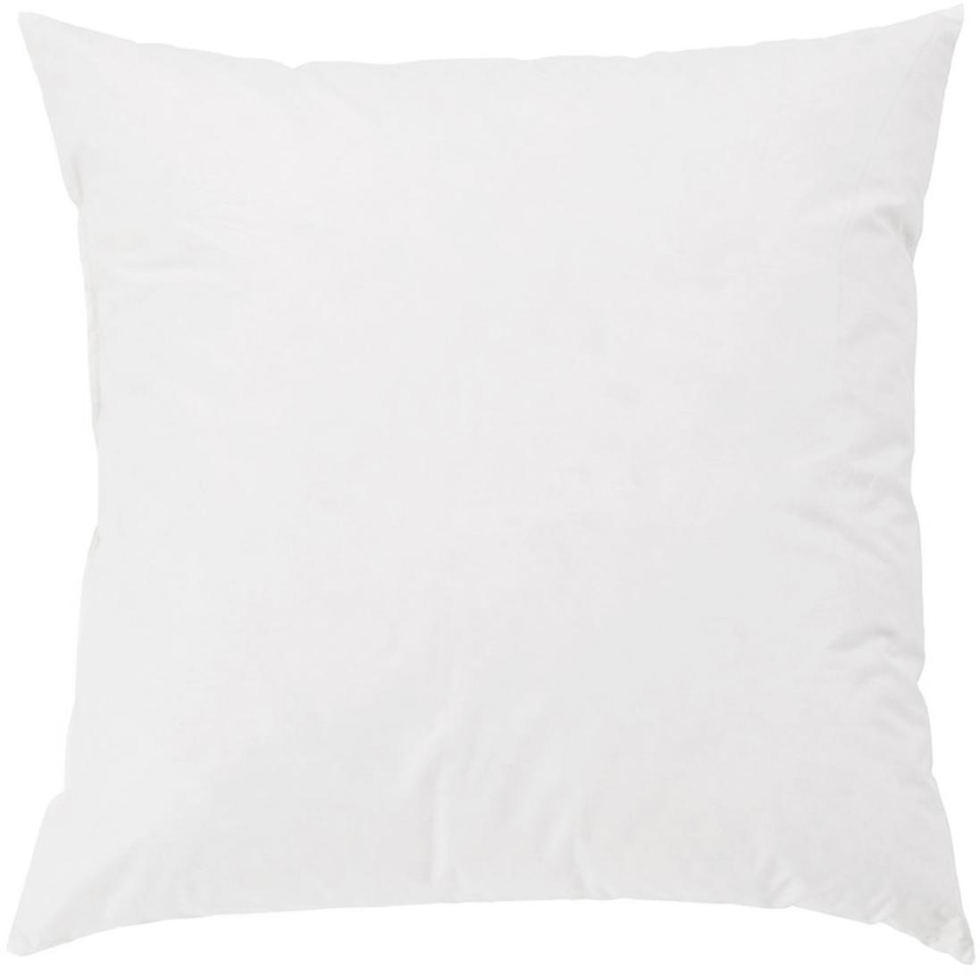 Relleno de cojín Premium, 60x60, Funda: percal Mako, 100%algodón, Blanco, An 60 x L 60 cm