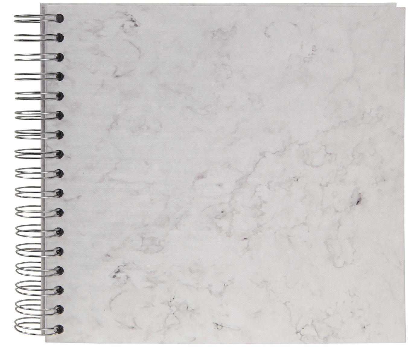 Fotoalbum Picture, Weiß, marmoriert, 25 x 22 cm