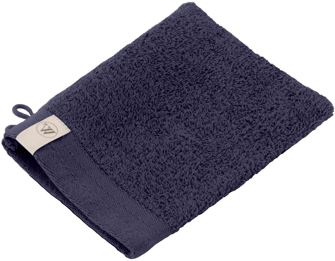Washandjes Soft Cotton, 2 stuks, Katoen, middelzware kwaliteit, 550 g/m², Marineblauw, 16 x 21 cm