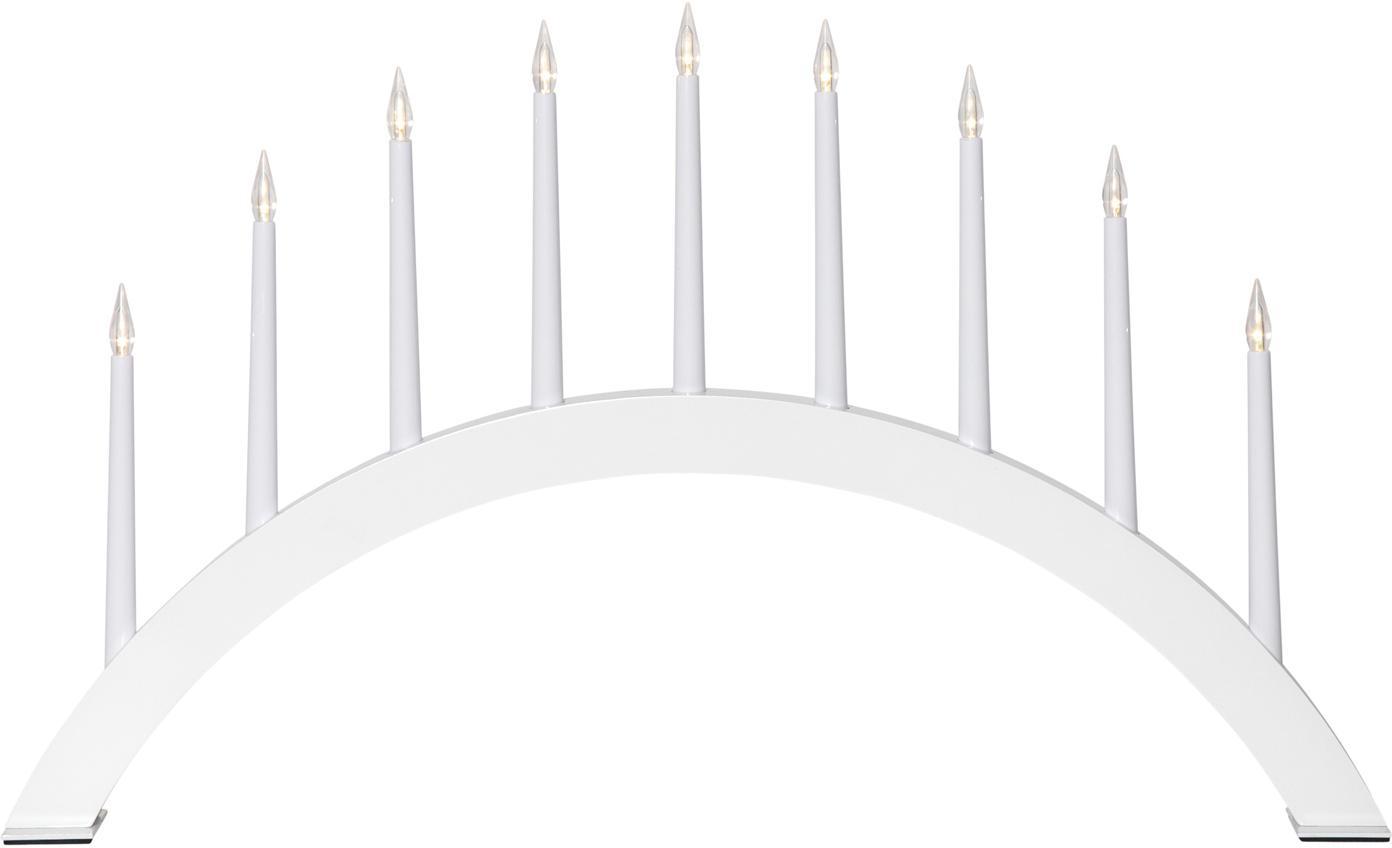Leuchtobjekt Jazz, mit Stecker, Weiß, 53 x 32 cm
