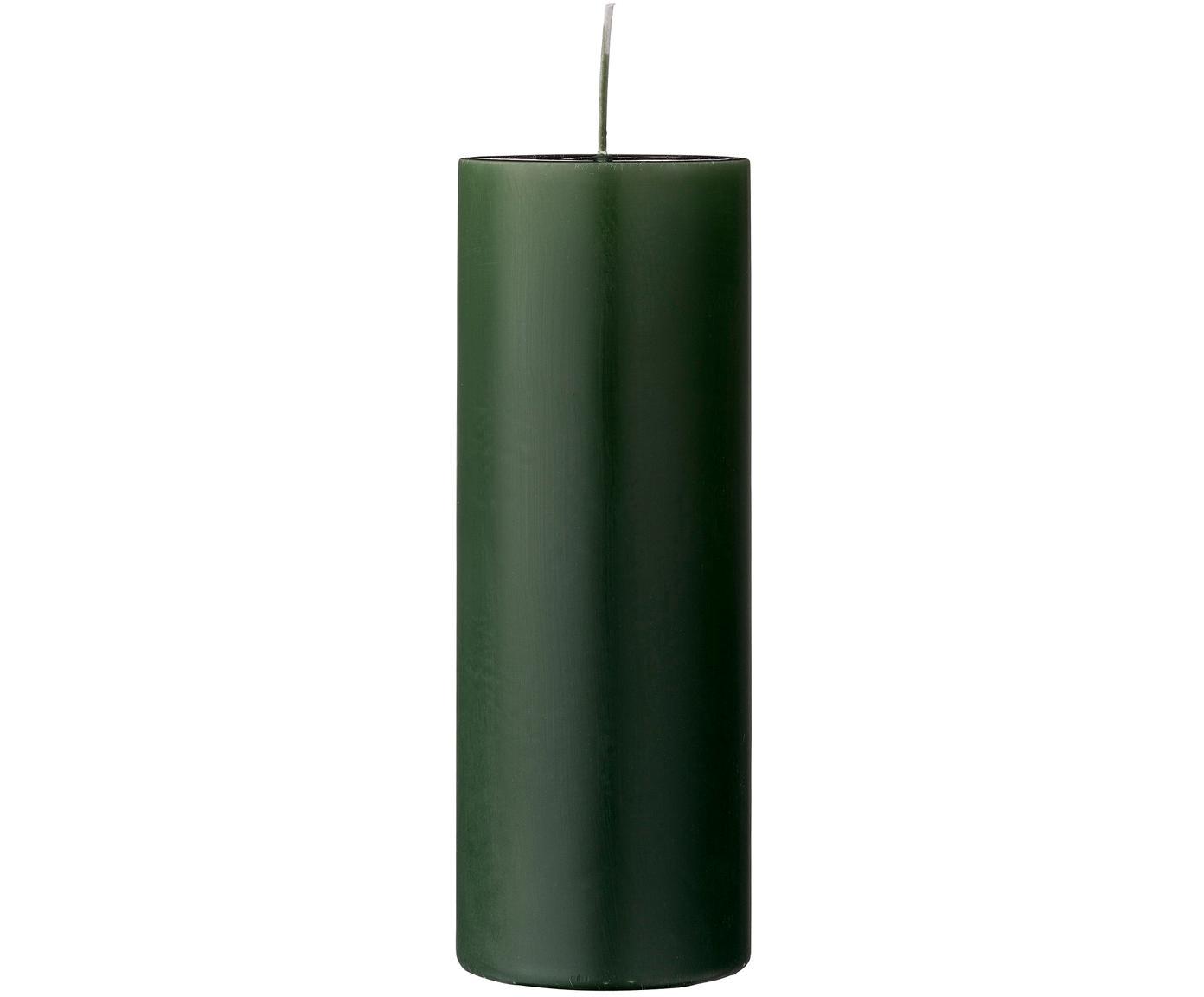 Candela profumata Lulu, Cera, Verde, Ø 7 x Alt. 20 cm