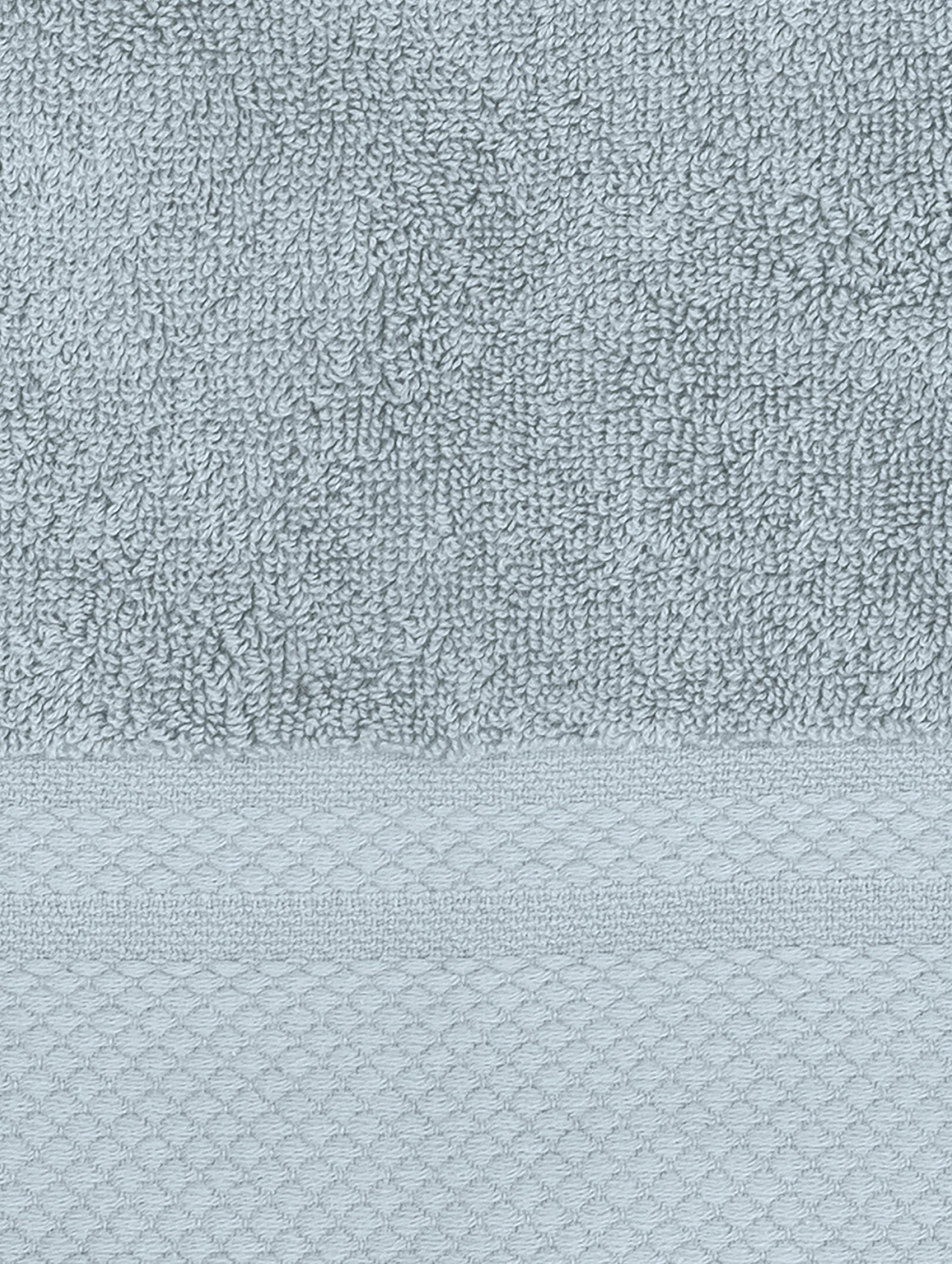 Handtuch-Set Premium mit klassischer Zierbordüre, 3-tlg., Hellblau, Verschiedene Grössen