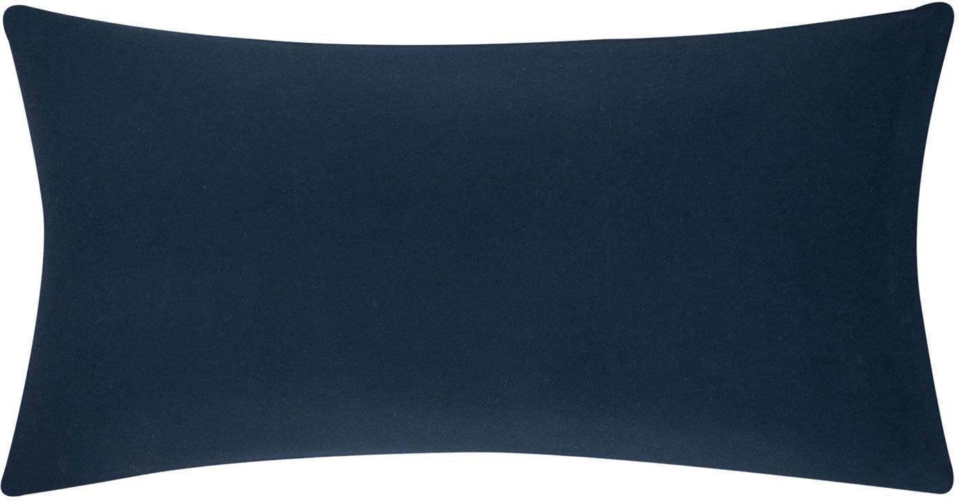 Flanell-Kissenbezüge Biba in Navyblau, 2 Stück, Webart: Flanell Flanell ist ein s, Navyblau, 40 x 80 cm