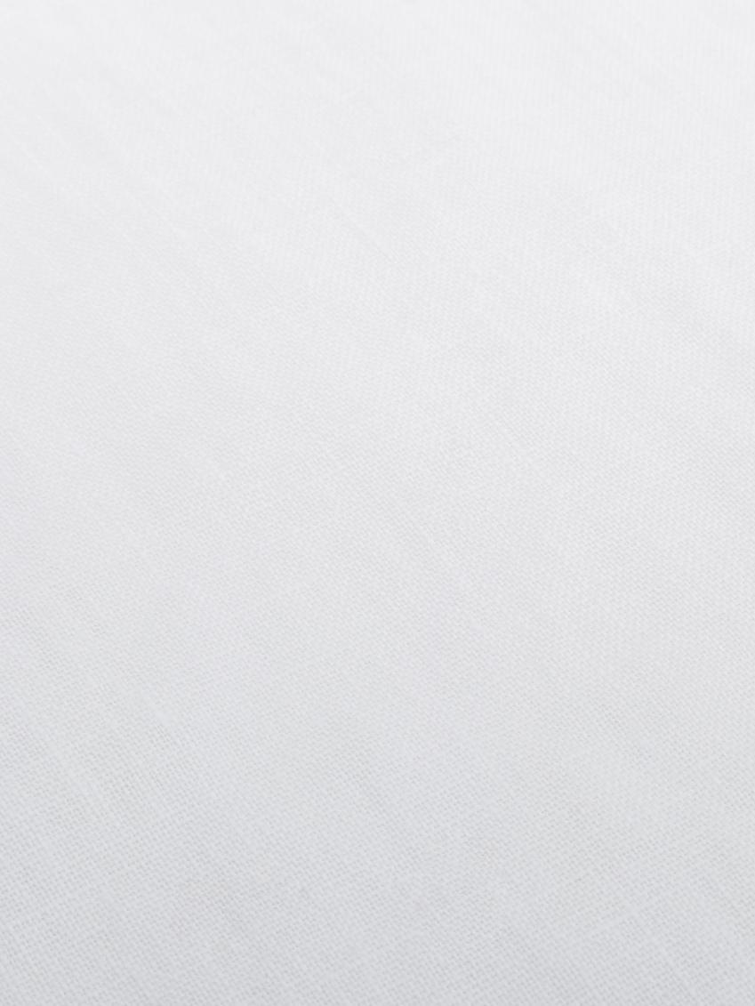 Leinen-Tischdecke Lucka, Leinen, Weiss, Für 6 - 8 Personen (B 150 x L 200 cm)