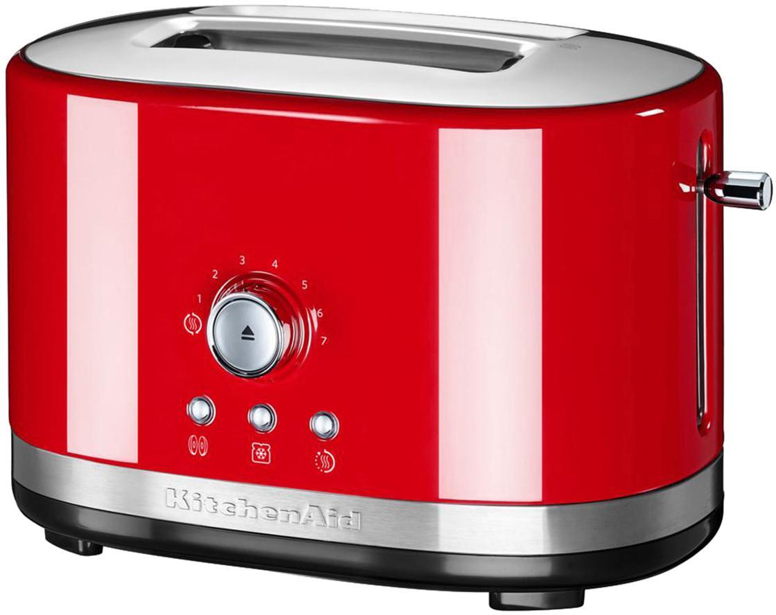 Toaster KitchenAid, Gehäuse: Aluminiumdruckguss, Edels, Rot, 31 x 20 cm