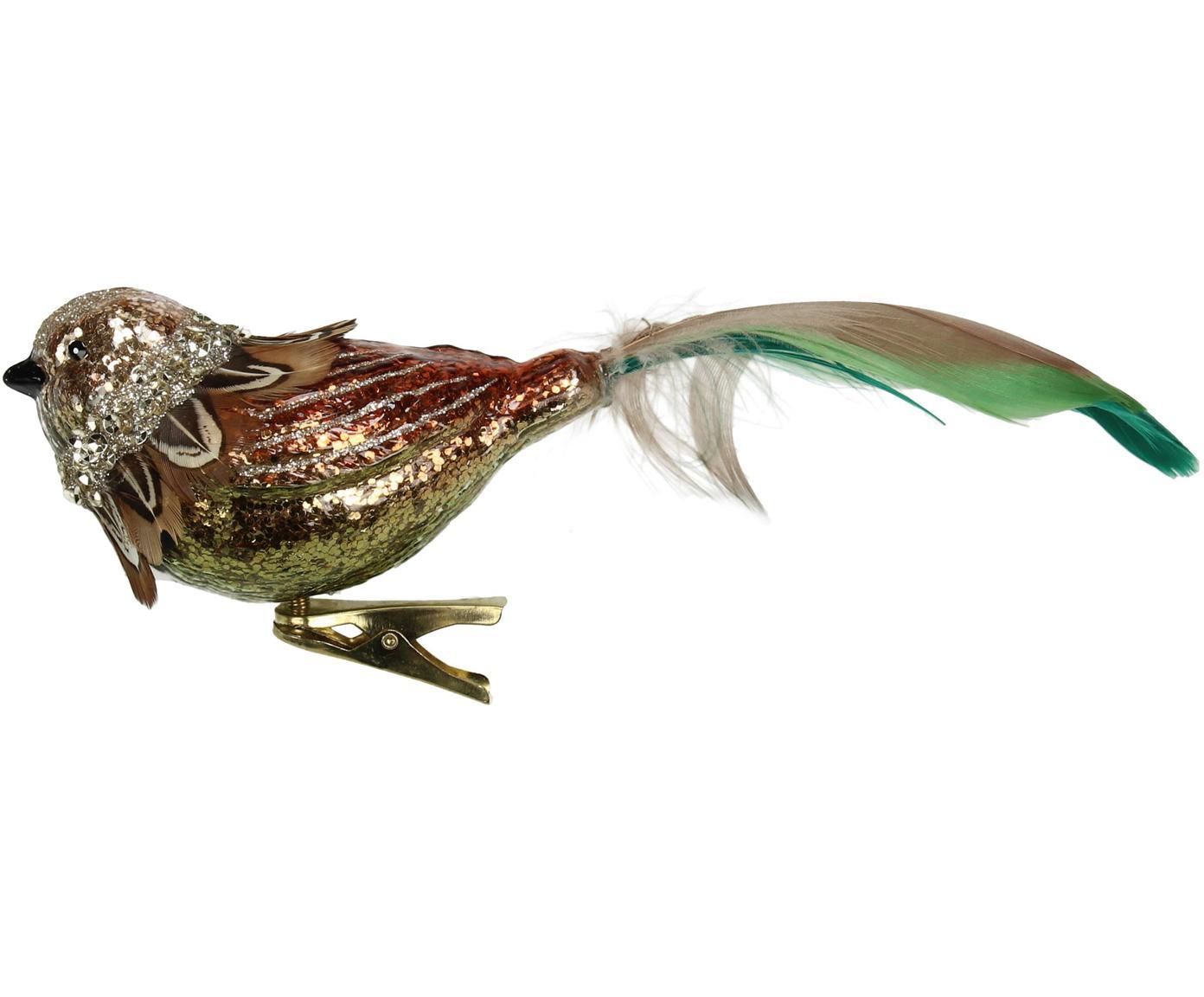 Kerstboomhanger Bird, Multicolour, 19 x 8 cm