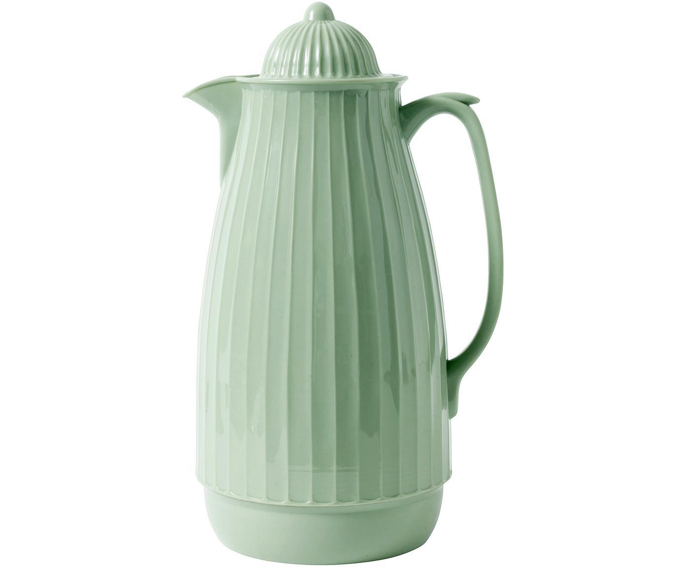 Isolierkanne Juggie, Außen: Kunststoff, Innen: Glas, Pastellgrün, 1 L