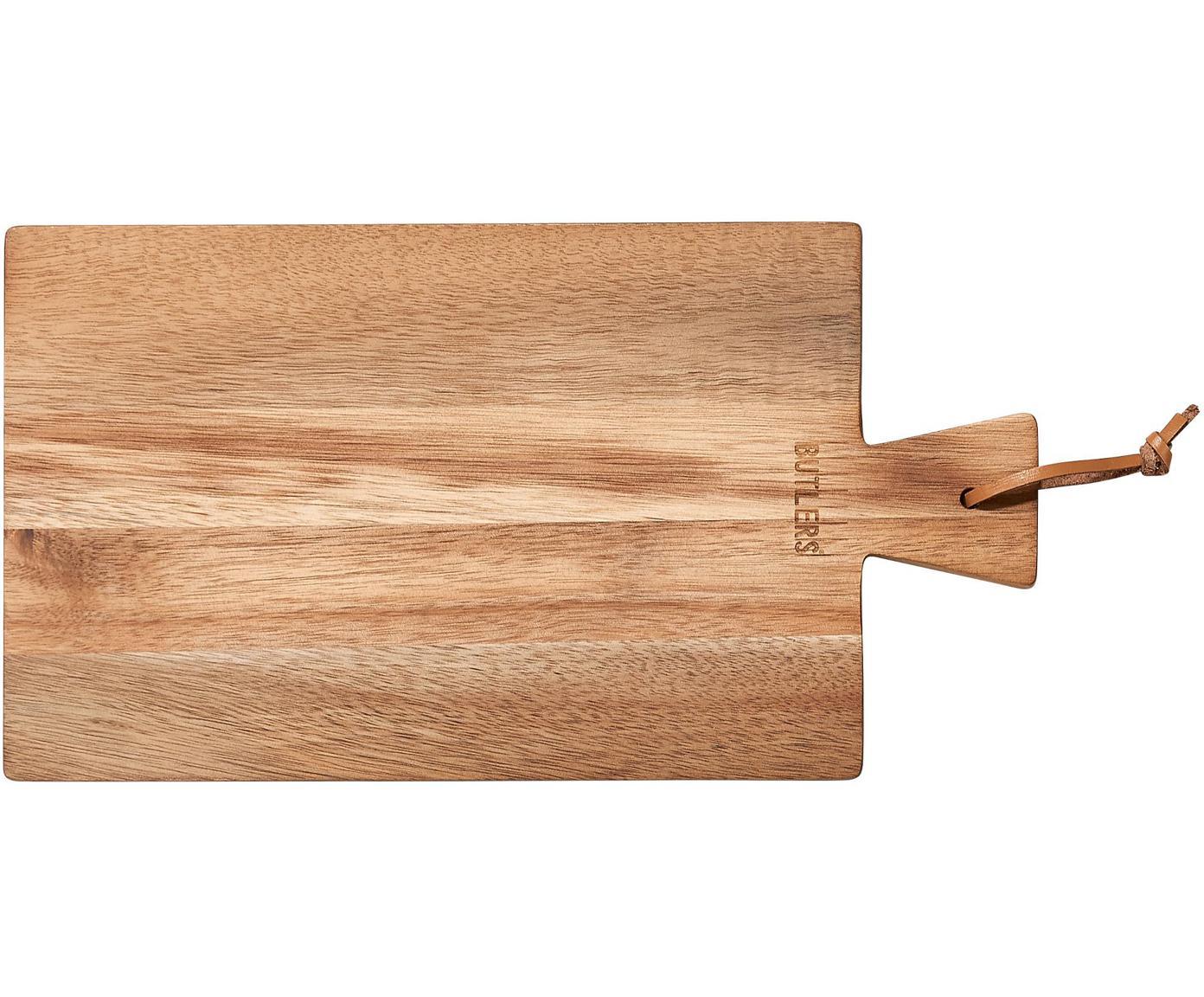 Tagliere in legno di acacia Cutting Crew, Legno di acacia, Larg. 32 x Prof. 17 cm