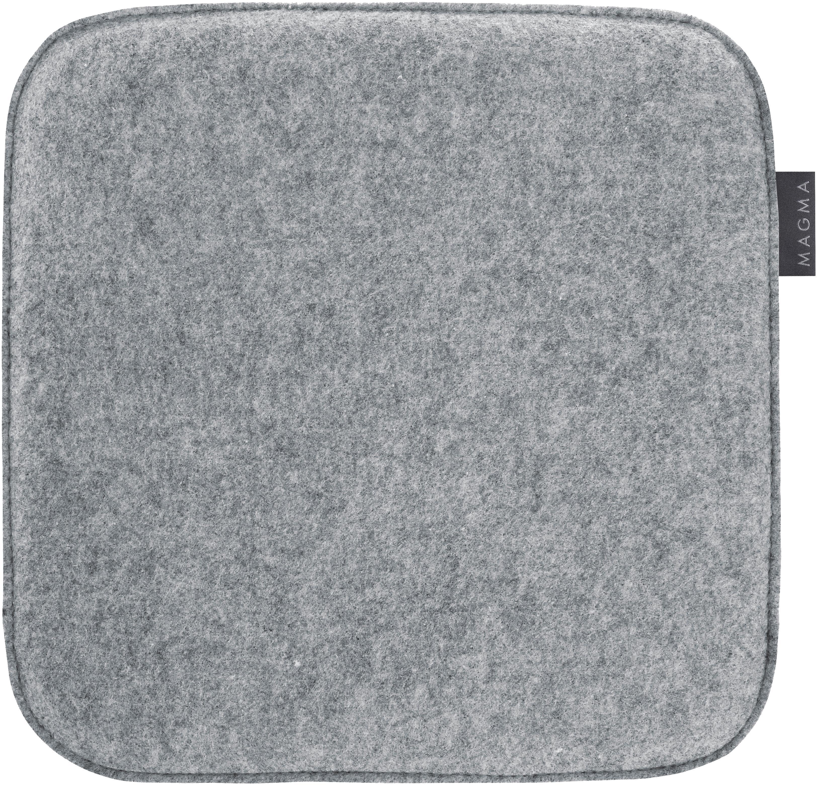 Cuscino sedia Avaro Square, 4 pz., Grigio, P 35 x L 35 cm