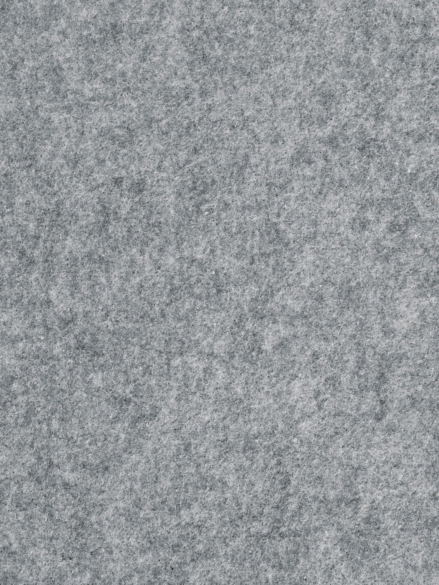 Filz-Sitzauflagen Avaro Square, 4 Stück, Grau, 35 x 35 cm