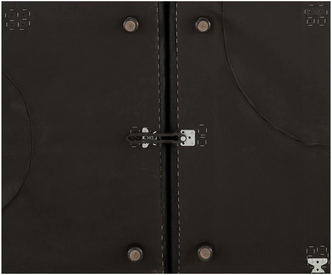 Diván modular grande Lennon, Tapizado: poliéster Resistencia a l, Estructura: madera de pino maciza, ma, Patas: plástico, Gris antracita, An 357 x F 119 cm