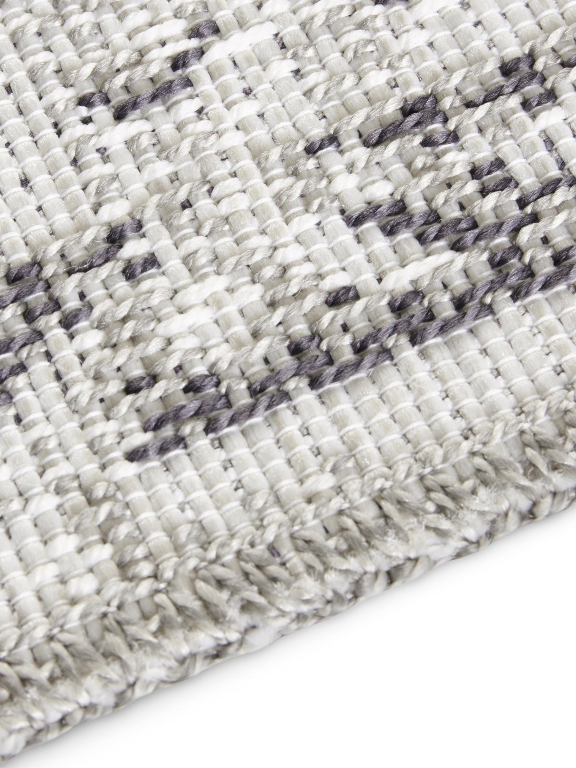Alfombra de interior y exterior Cenon, Polipropileno, Crema, gris, An 155 x L 230 cm (Tamaño M)