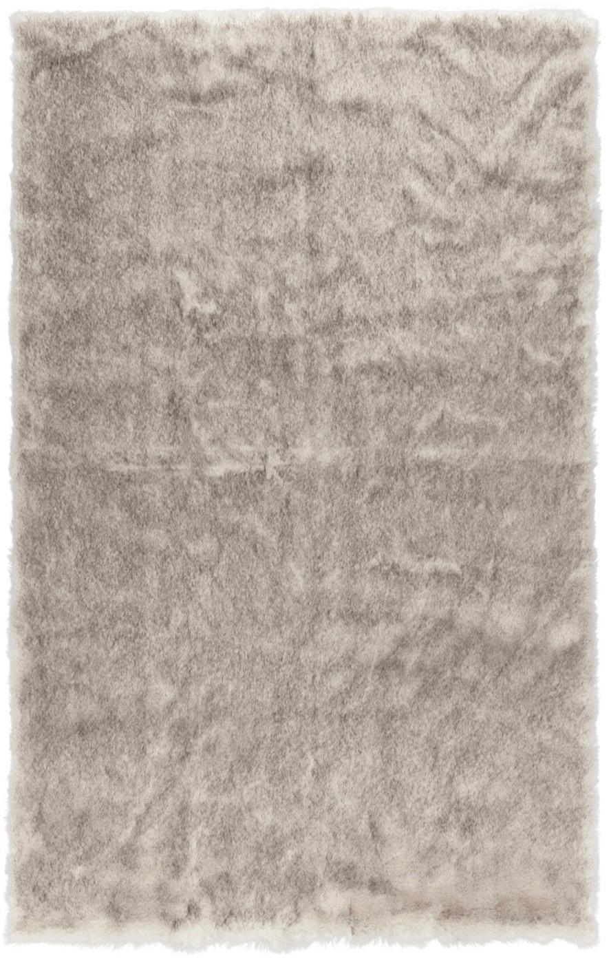 Flauschiger Hochflor-Teppich Superior aus Kunstfell, Flor: 95% Acryl, 5% Polyester, Creme,Beige,Weiß, B 180 x L 280 cm (Größe M)