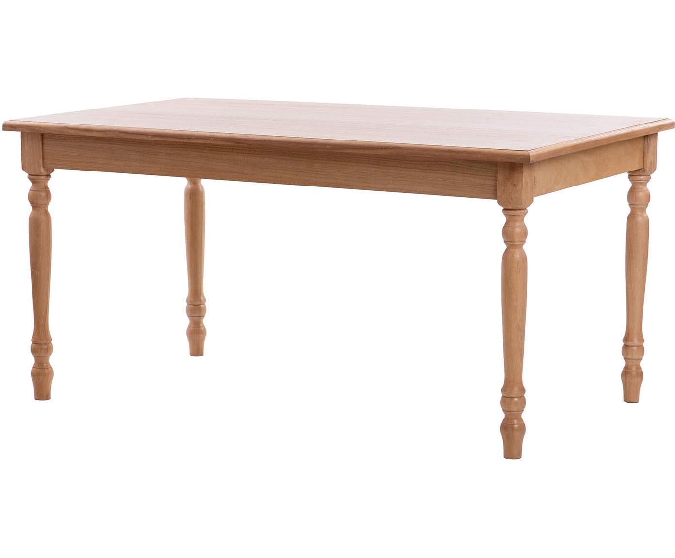 Mesa de comedor de madera Tristan, Marrón, An 160 x Al 76 cm