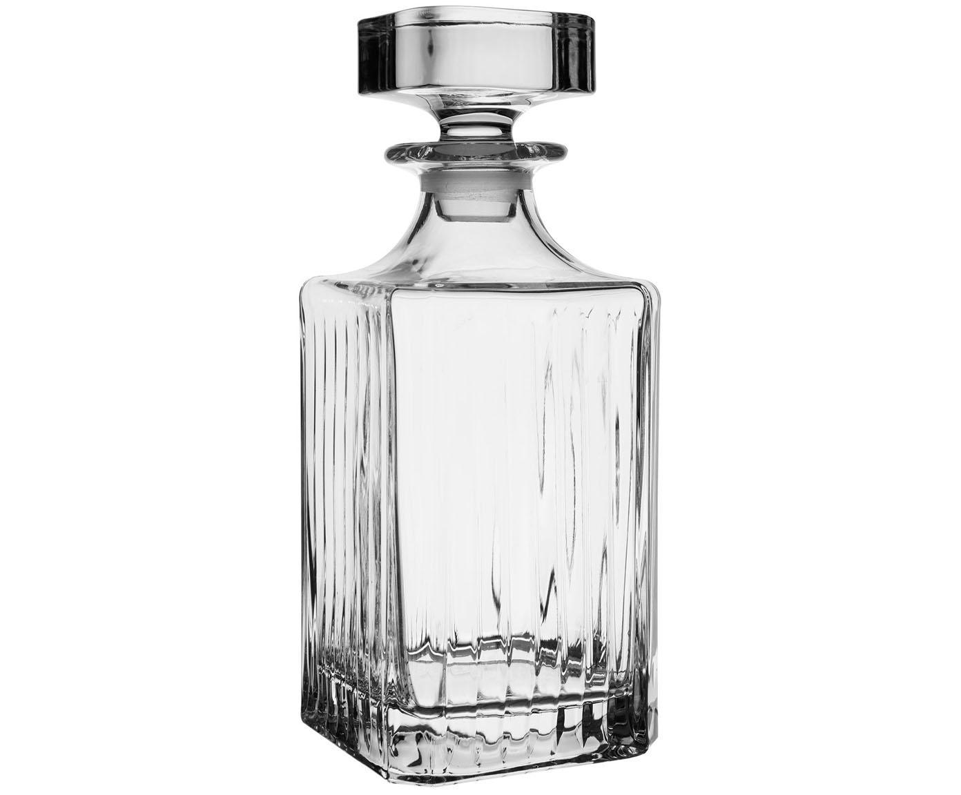 Kristalglazen karaf Timeless, Kristalglas, Transparant, H 24 cm