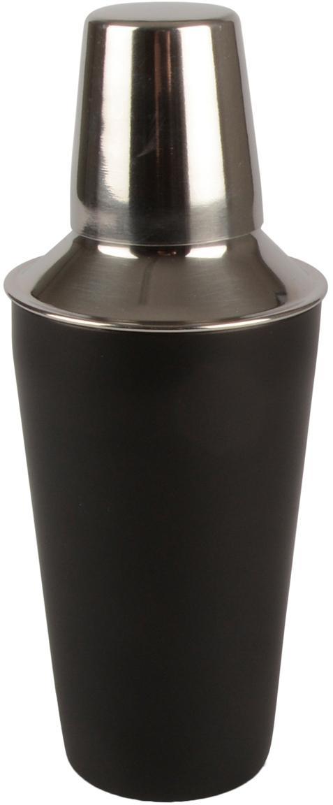 Cocktail Shaker Stambi, Rostfreier Stahl, beschichtet, Schwarz, Stahl, Ø 8 x H 22 cm
