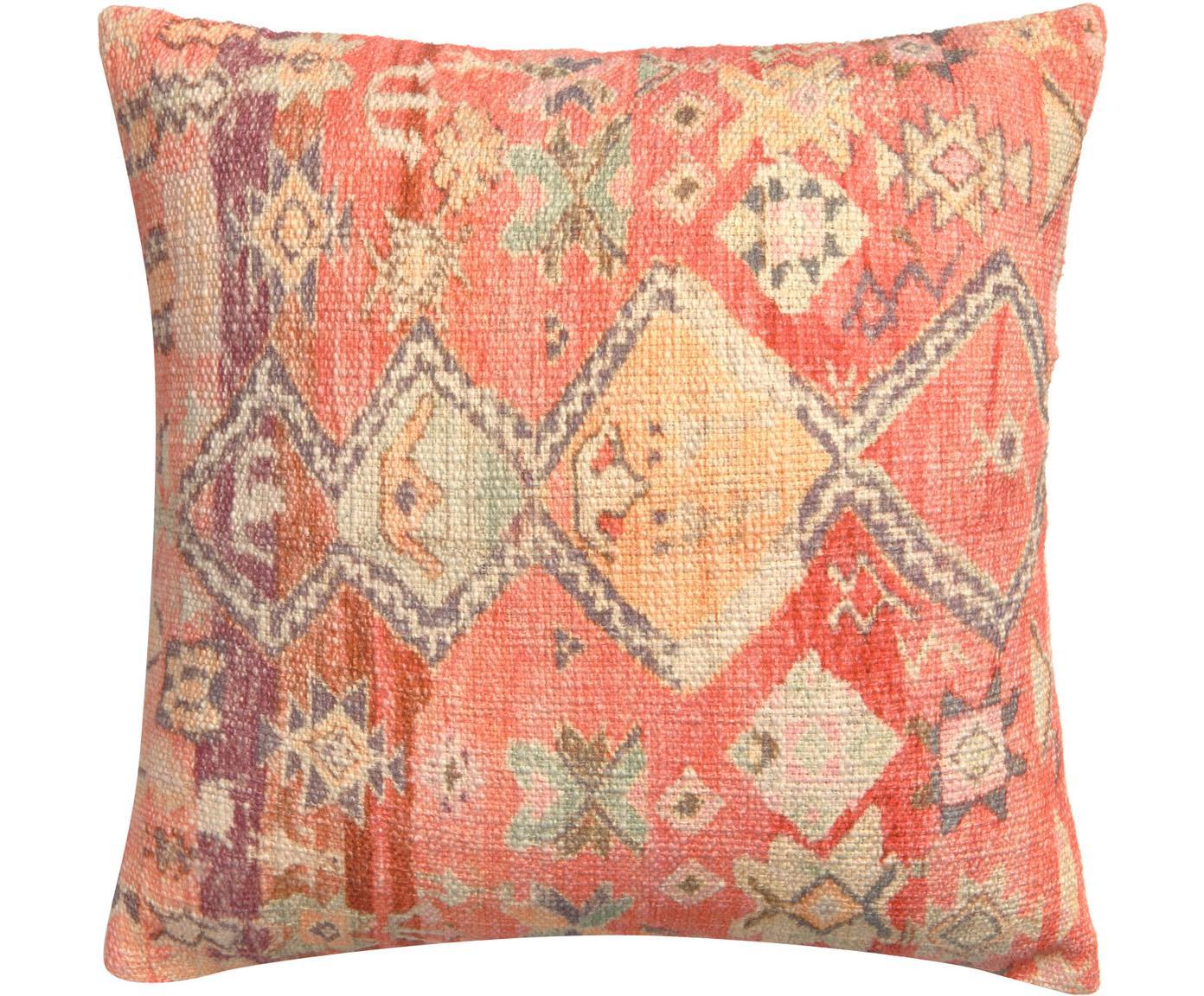 Kissenhülle Dasi mit Ethnomuster, 100% Baumwolle, Mehrfarbig, 45 x 45 cm