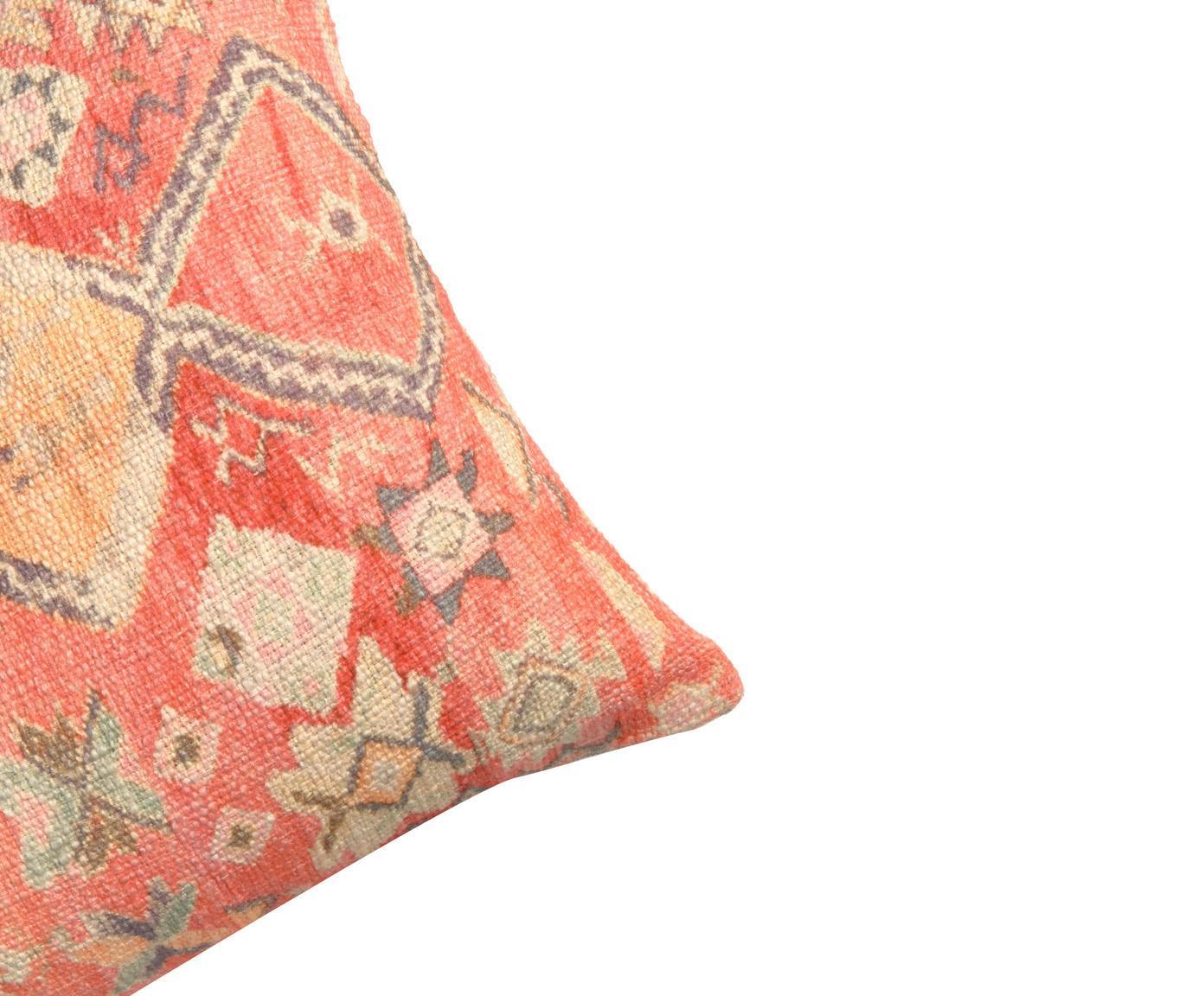 Housse de coussin 45x45 ethnique Dasi, Multicolore