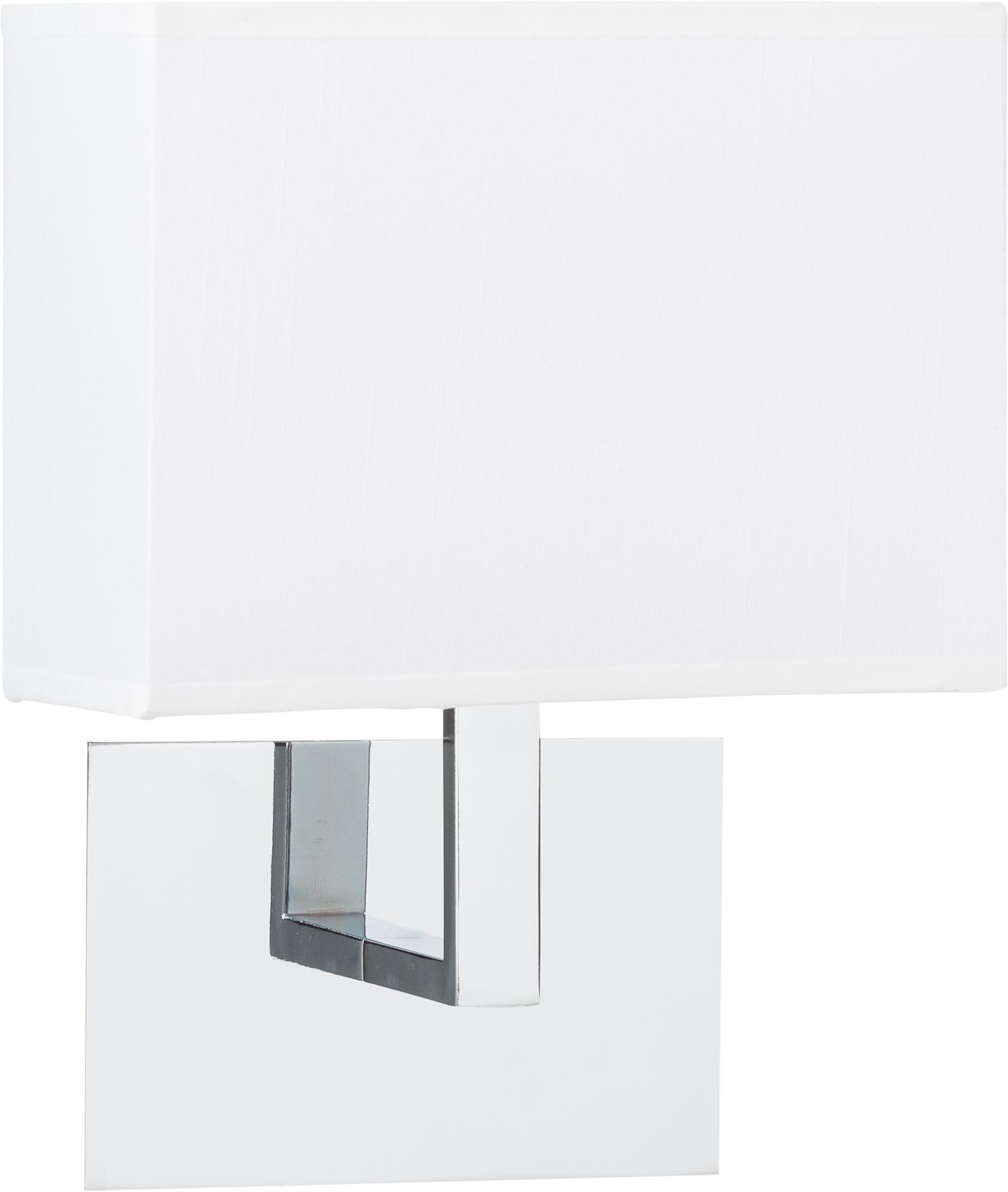 Aplique Lina, Metal, tela, Blanco, An 20 x Al 25 cm