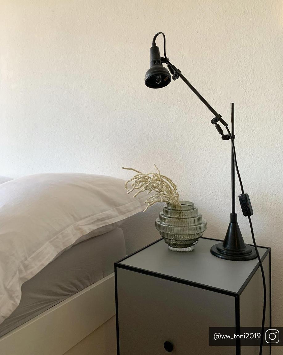 Vaso in vetro Rilla, Vetro, Verde, Ø 16 x Alt. 16 cm
