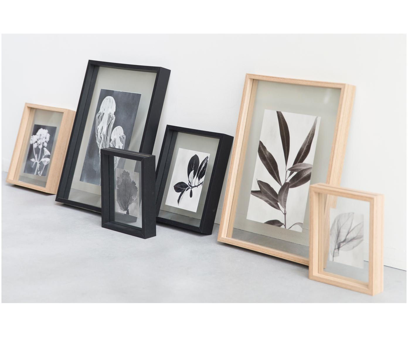 Ramka na zdjęcia Look, Czarny, transparentny, 15 x 20 cm