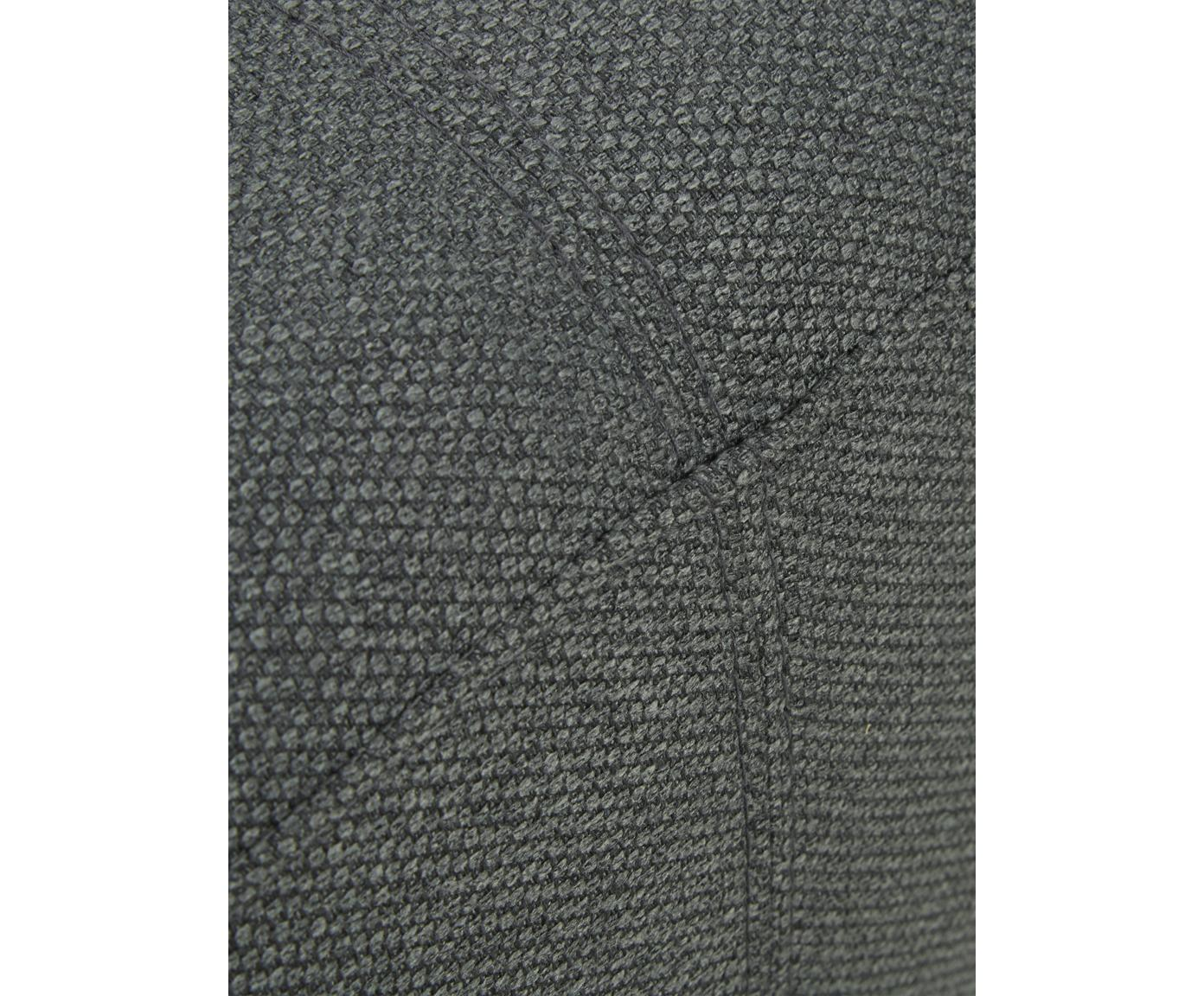 Ecksofa Ramira, Bezug: Polyester 20.000 Scheuert, Gestell: Massives Kiefernholz, Spe, Füße: Metall, pulverbeschichtet, Webstoff Anthrazit, 192 x 79 cm