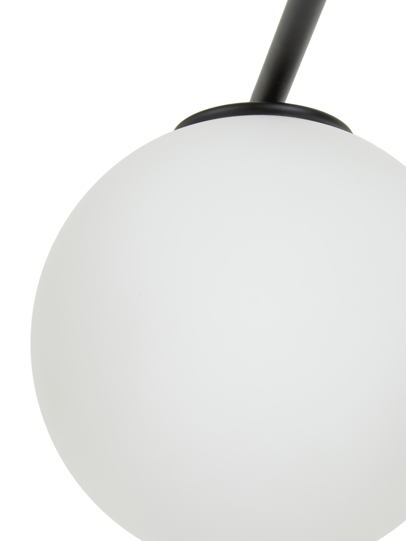 Lampa sufitowa z funkcją obracania Atlanta, Czarny, S 65 x W 30 cm