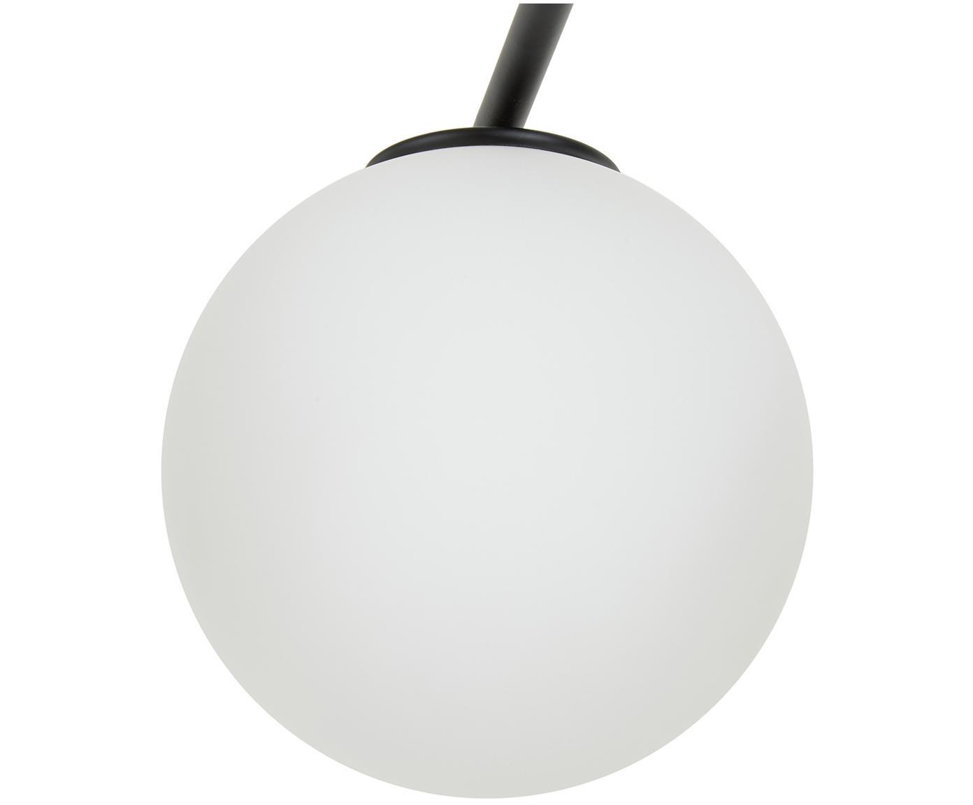 Lampa sufitowa z regulacją wysokości Atlanta, Czarny, S 65 x W 30 cm